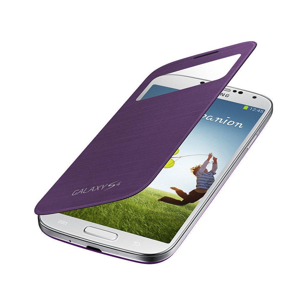 Чехол для моб. телефона Samsung I9500 Galaxy S4/Sirius Purple/S View Cover (EF-CI950BVEGWW) изображение 2