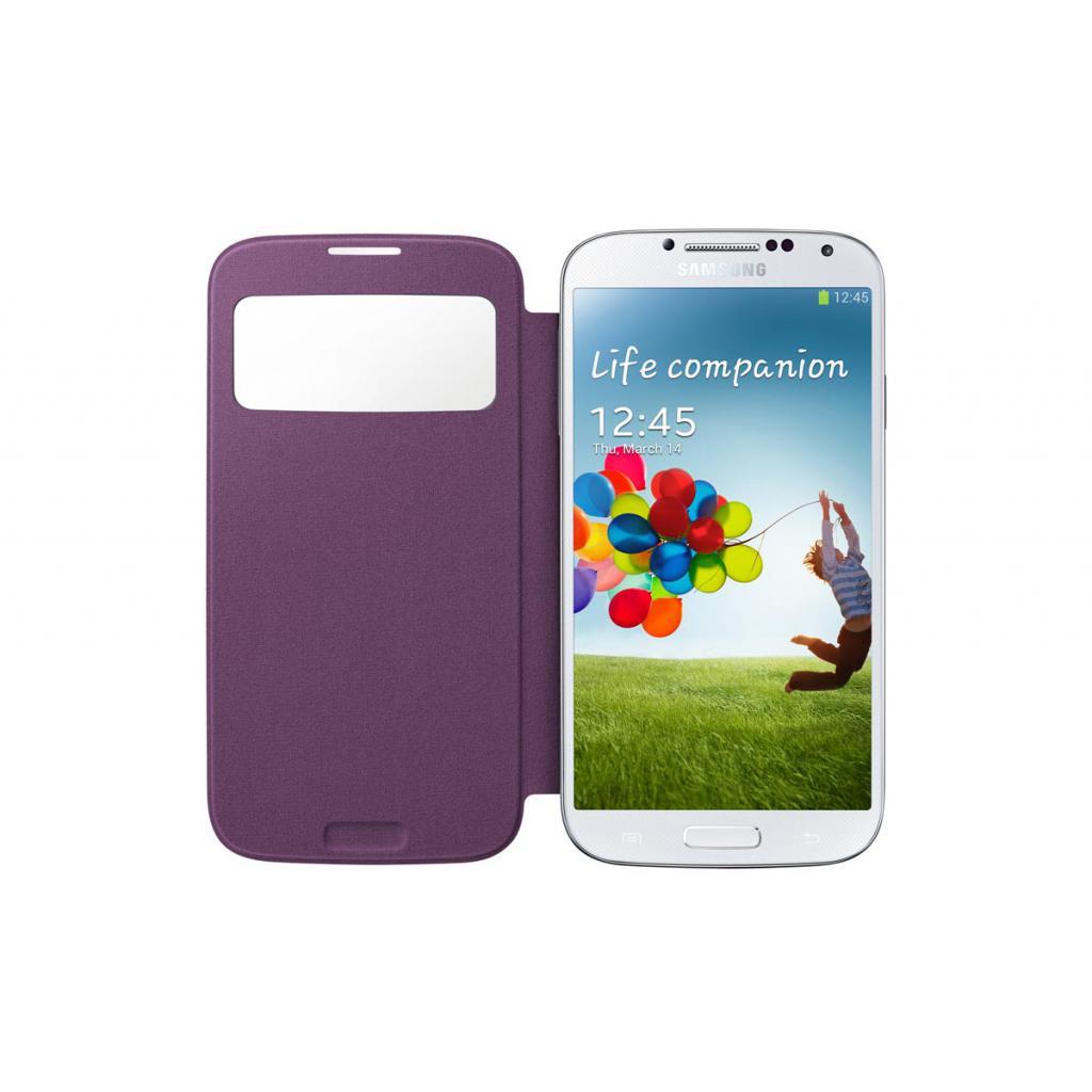 Чехол для моб. телефона Samsung I9500 Galaxy S4/Sirius Purple/S View Cover (EF-CI950BVEGWW) изображение 4