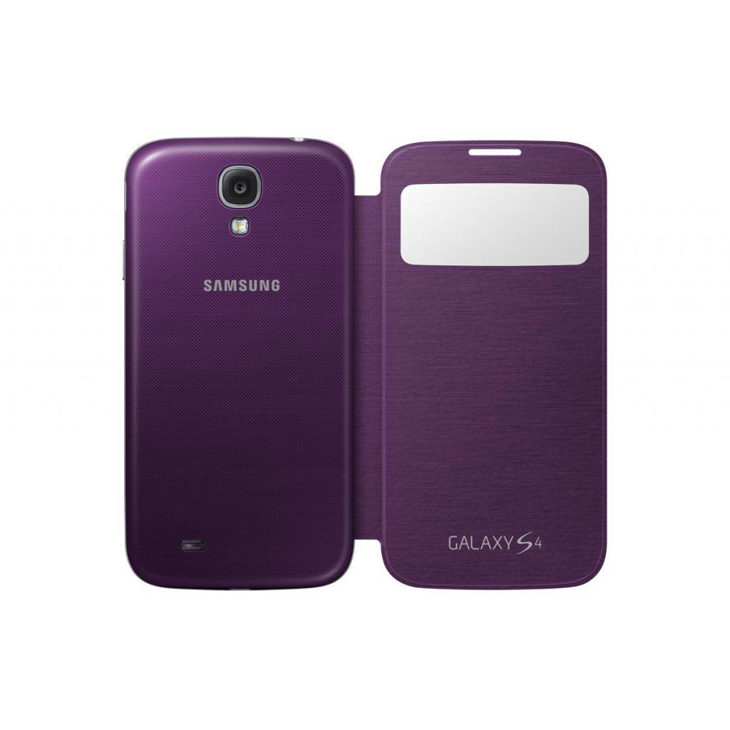 Чехол для моб. телефона Samsung I9500 Galaxy S4/Sirius Purple/S View Cover (EF-CI950BVEGWW) изображение 5