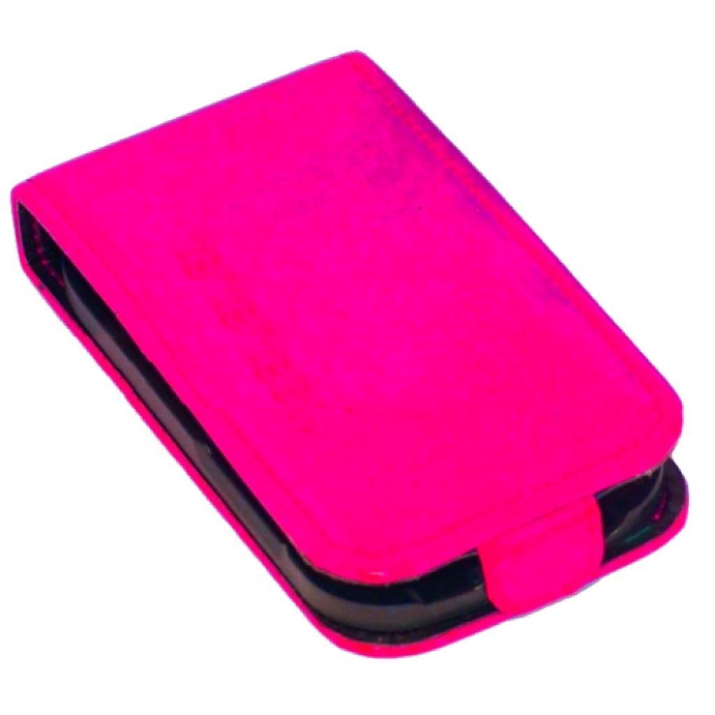Чехол для моб. телефона KeepUp для Samsung S5660 Galaxy Gio Pink rabat/FLIP (00-00003988) изображение 3