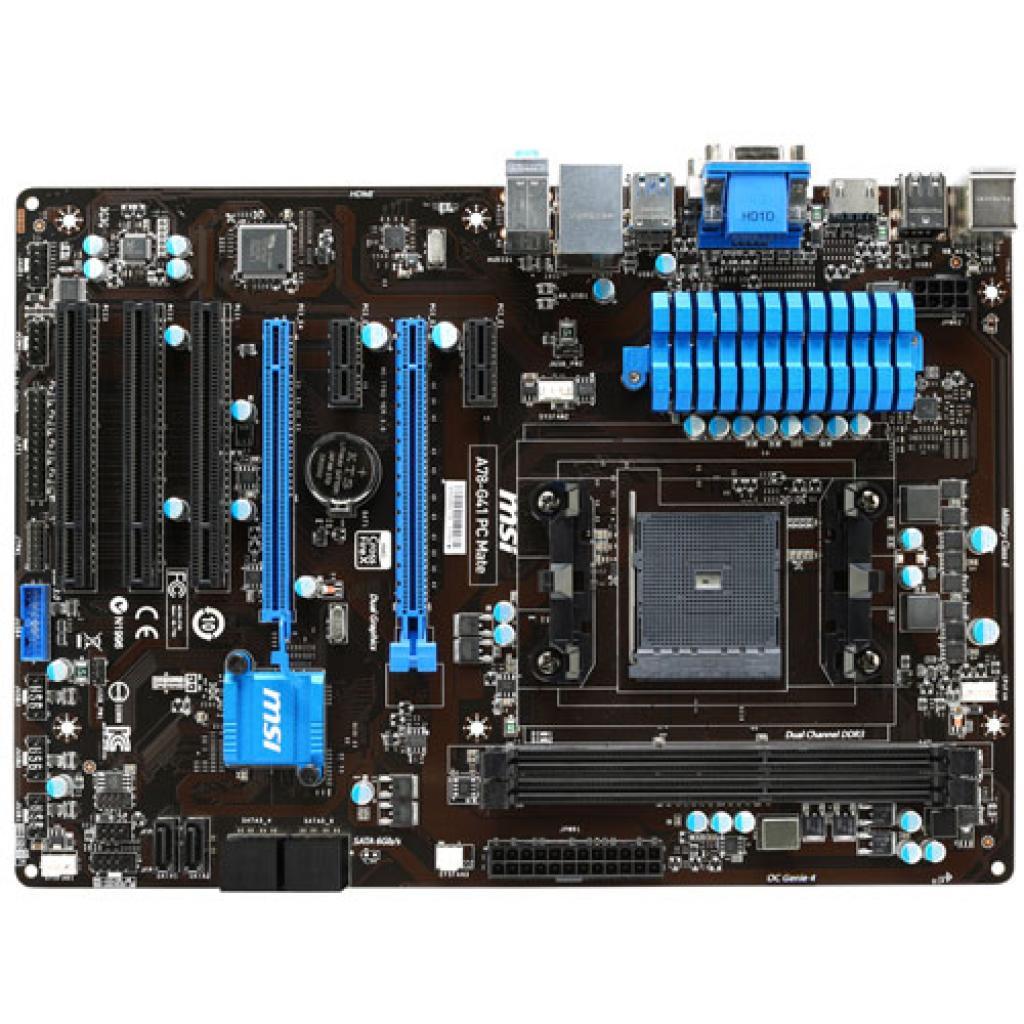 Материнская плата MSI A78-G41 PC MATE изображение 2