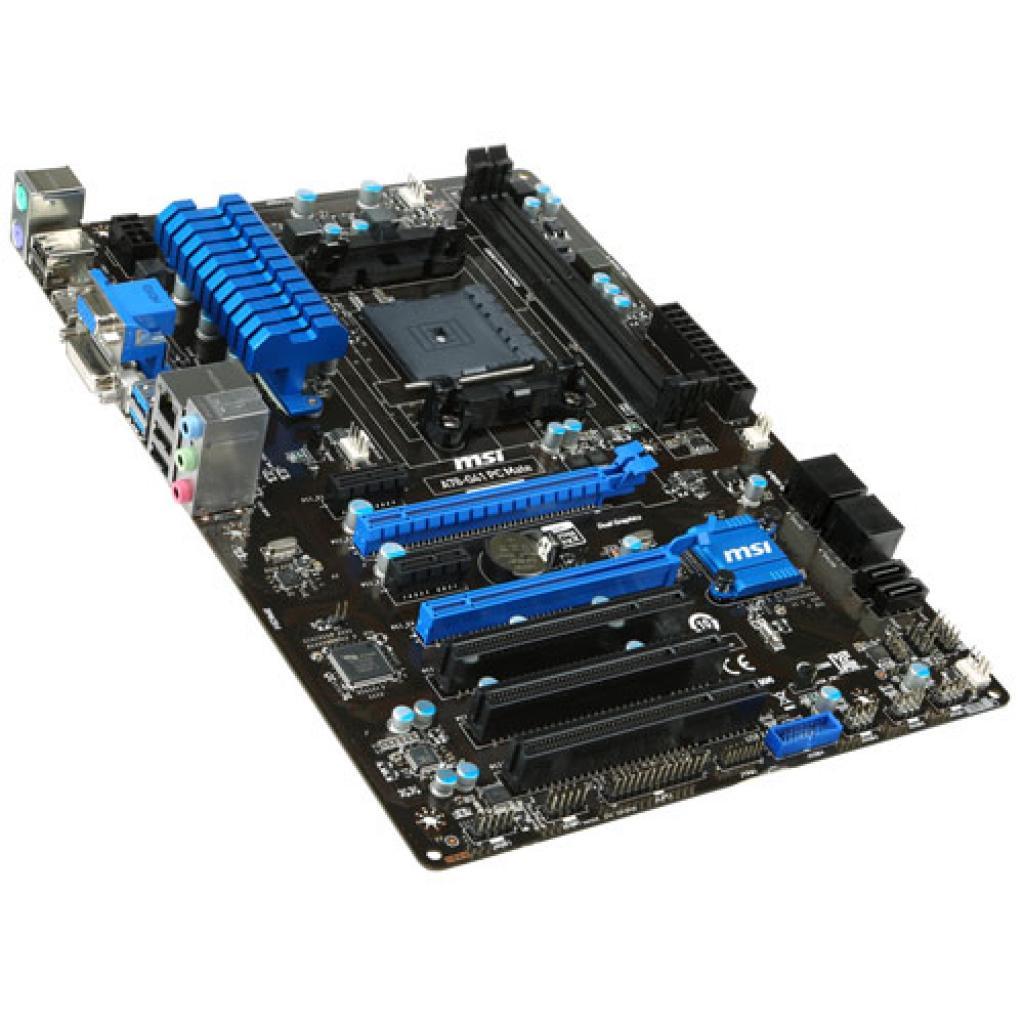 Материнская плата MSI A78-G41 PC MATE изображение 4