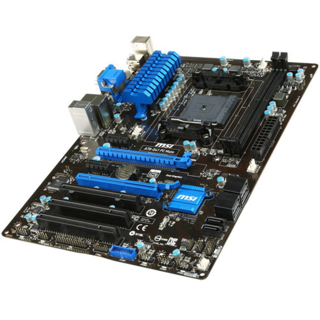 Материнская плата MSI A78-G41 PC MATE изображение 5