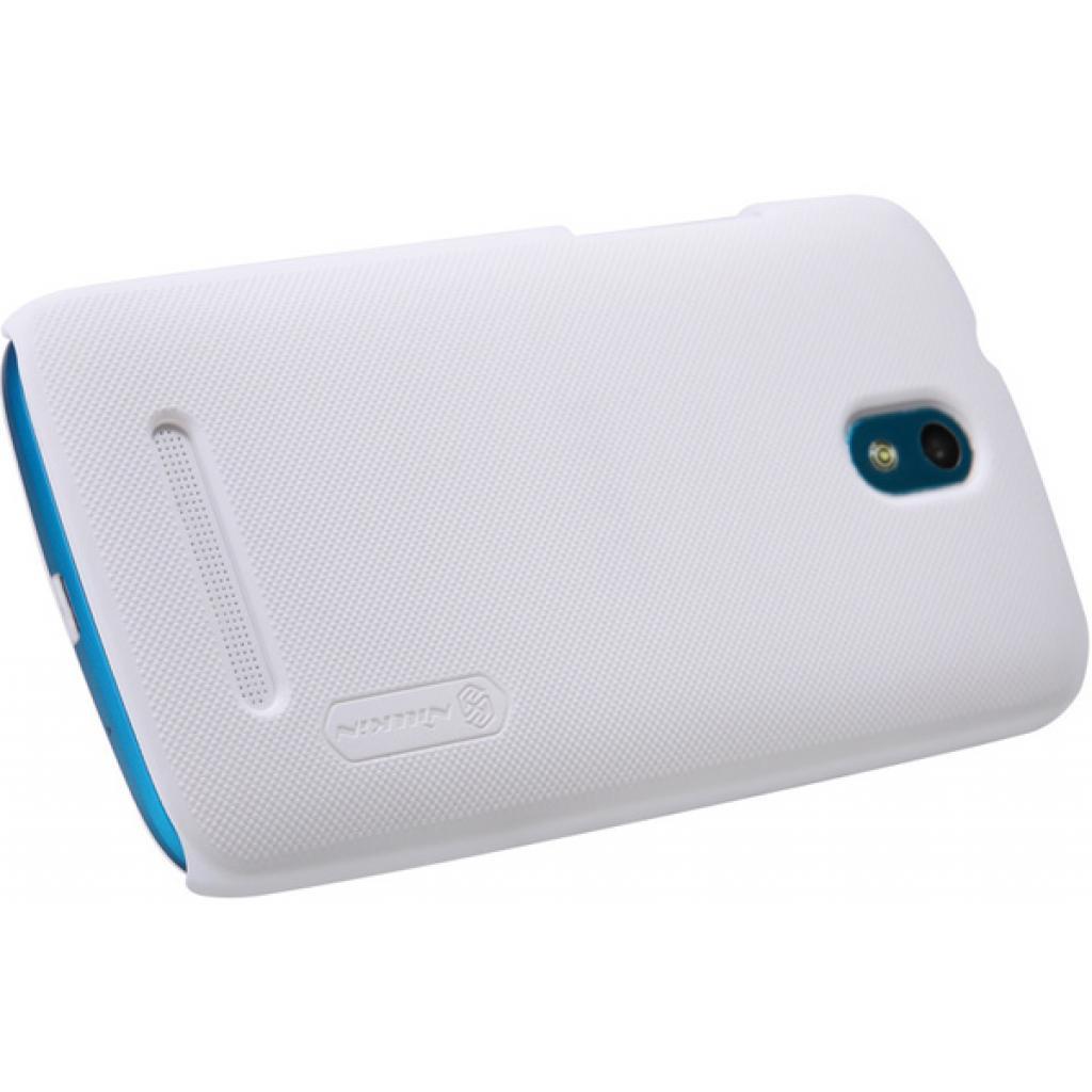 Чехол для моб. телефона NILLKIN для HTC Desire 500 /Super Frosted Shield/White (6076980) изображение 4