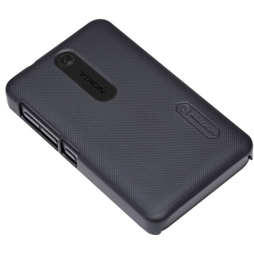 Чехол для моб. телефона NILLKIN для Nokia 501 /Super Frosted Shield/Black (6077014) изображение 2