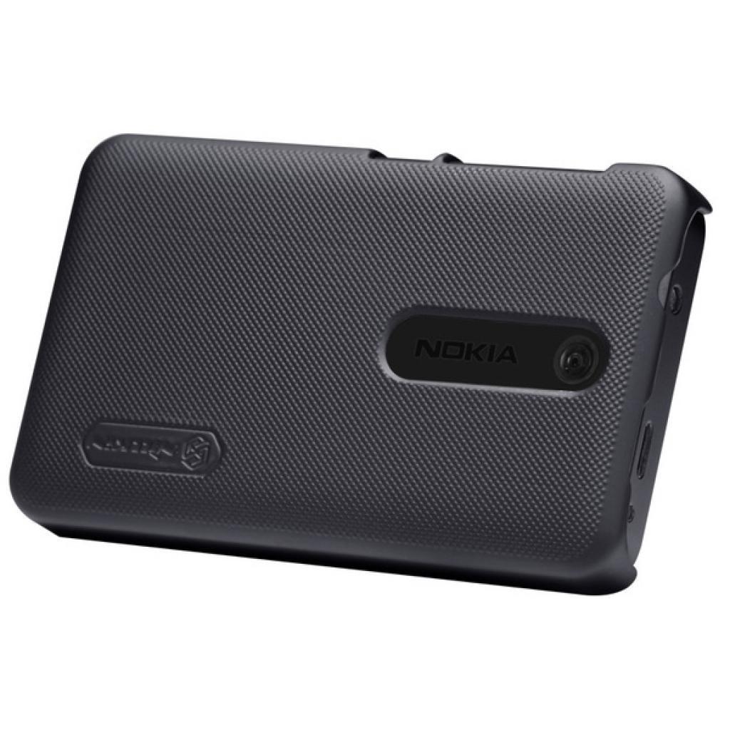 Чехол для моб. телефона NILLKIN для Nokia 501 /Super Frosted Shield/Black (6077014) изображение 4