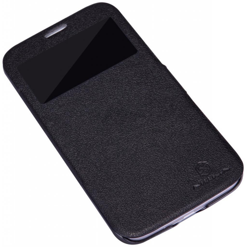 Чехол для моб. телефона NILLKIN для Samsung I9152 /Fresh/ Leather/Black (6076968) изображение 2