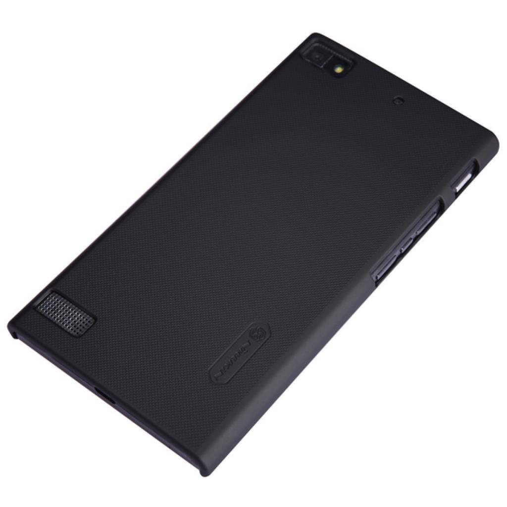 Чехол для моб. телефона NILLKIN для Bleckberry Z3 /Super Frosted Shield/Black (6164355) изображение 3