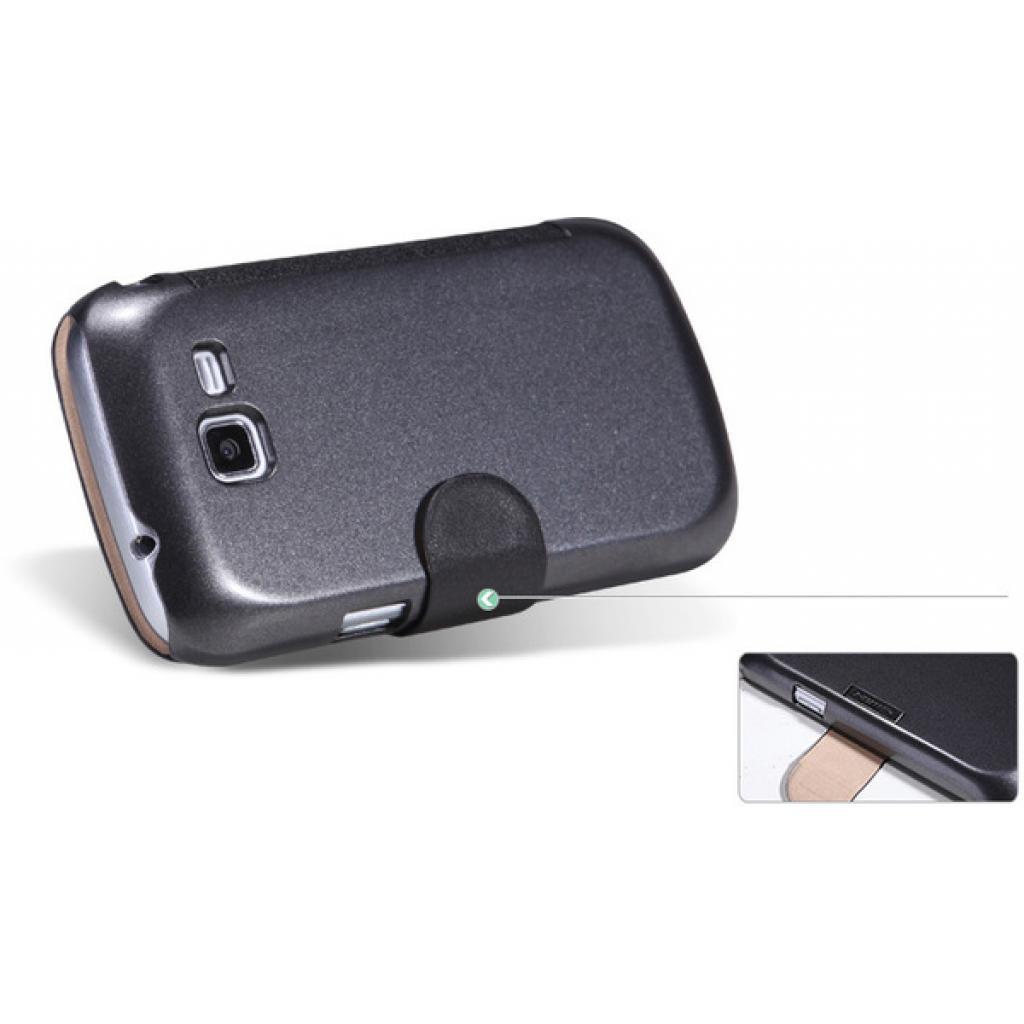 Чехол для моб. телефона NILLKIN для Samsung S7390 /Fresh/ Leather/Black (6130564) изображение 2