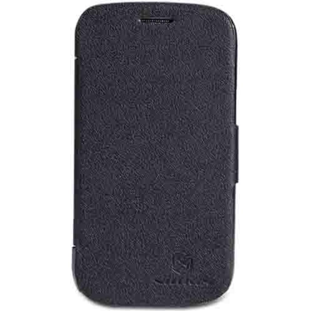 Чехол для моб. телефона NILLKIN для Samsung S7390 /Fresh/ Leather/Black (6130564)