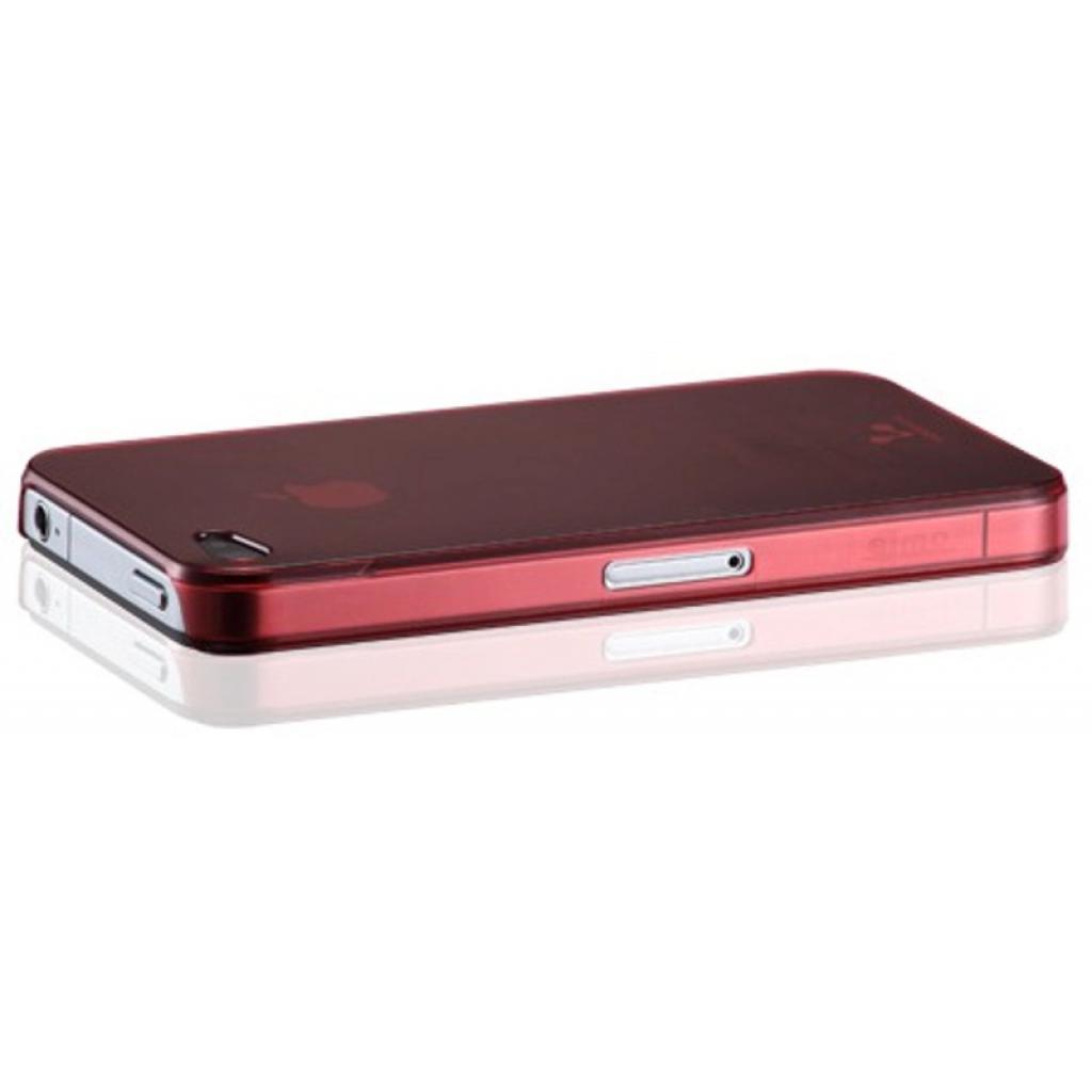 Чехол для моб. телефона VOORCA iPhone4 Smoky case рубiн (рожев) (V-4S Ruby-pink) изображение 2
