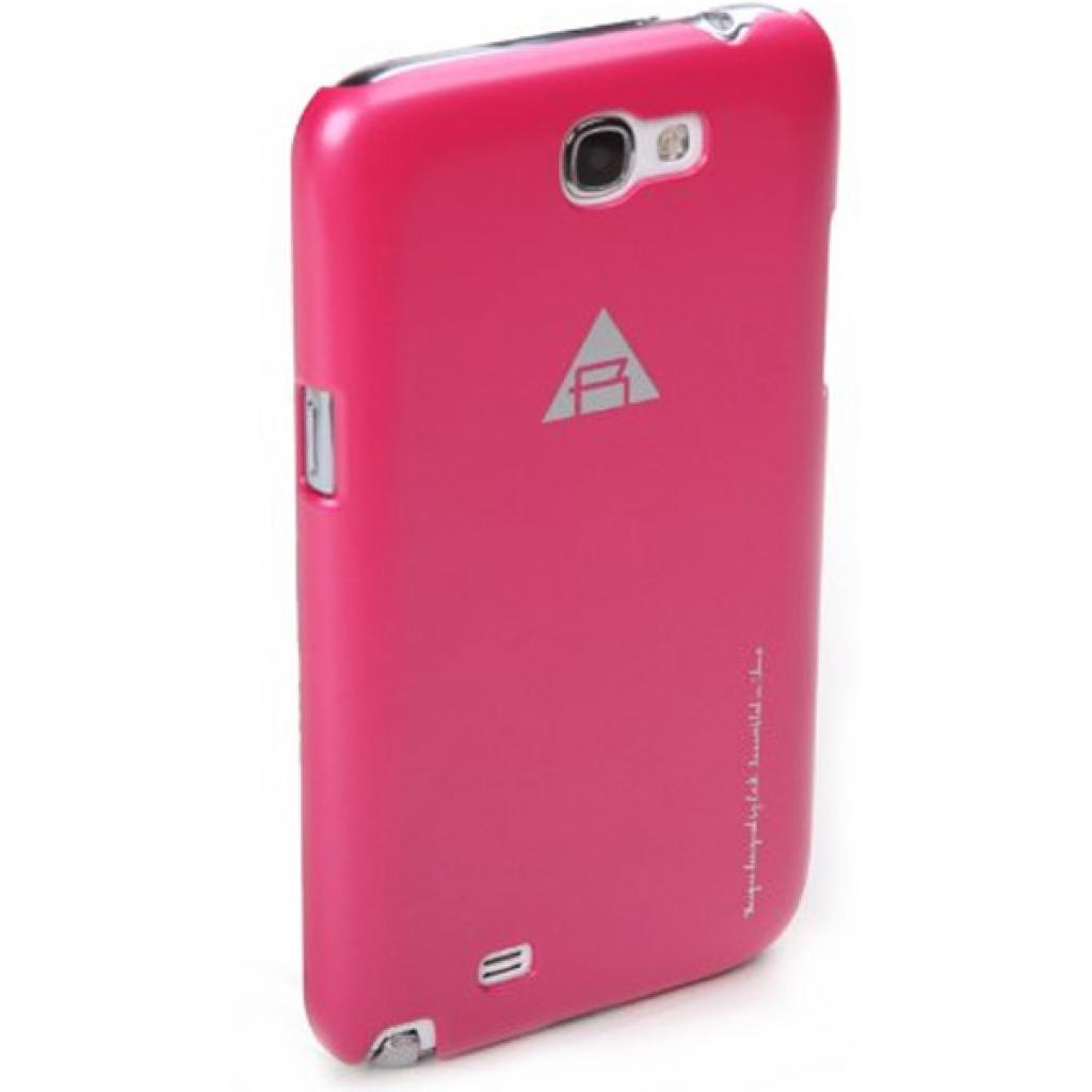 Чехол для моб. телефона Rock Samsung Note2 N7100 New naked shell series rose red (N7100-43910) изображение 3