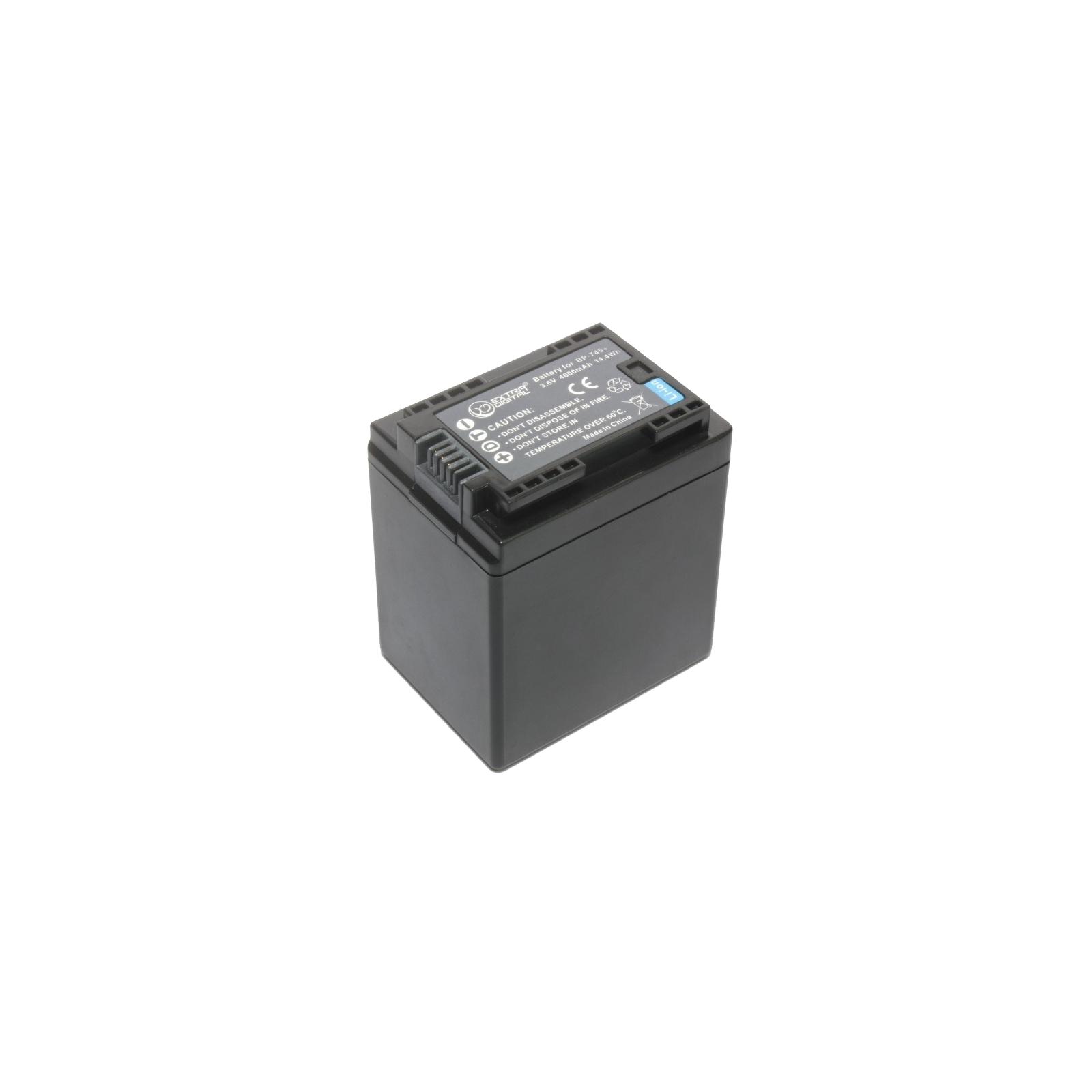 Аккумулятор к фото/видео EXTRADIGITAL Canon BP-745 (chip) (BDC1303) изображение 3