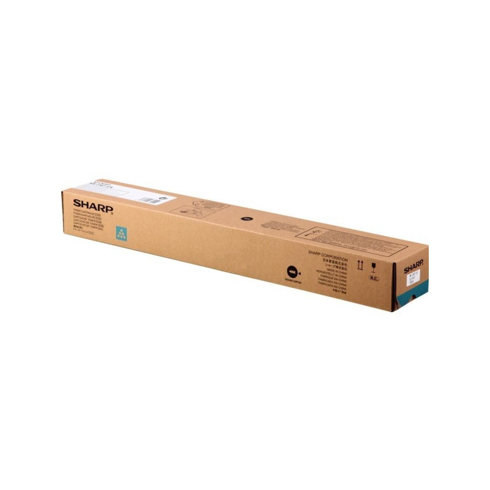 Тонер-картридж SHARP MX 23GTCA Cyan 10K (MX23GTCA/MX-23GTCA)