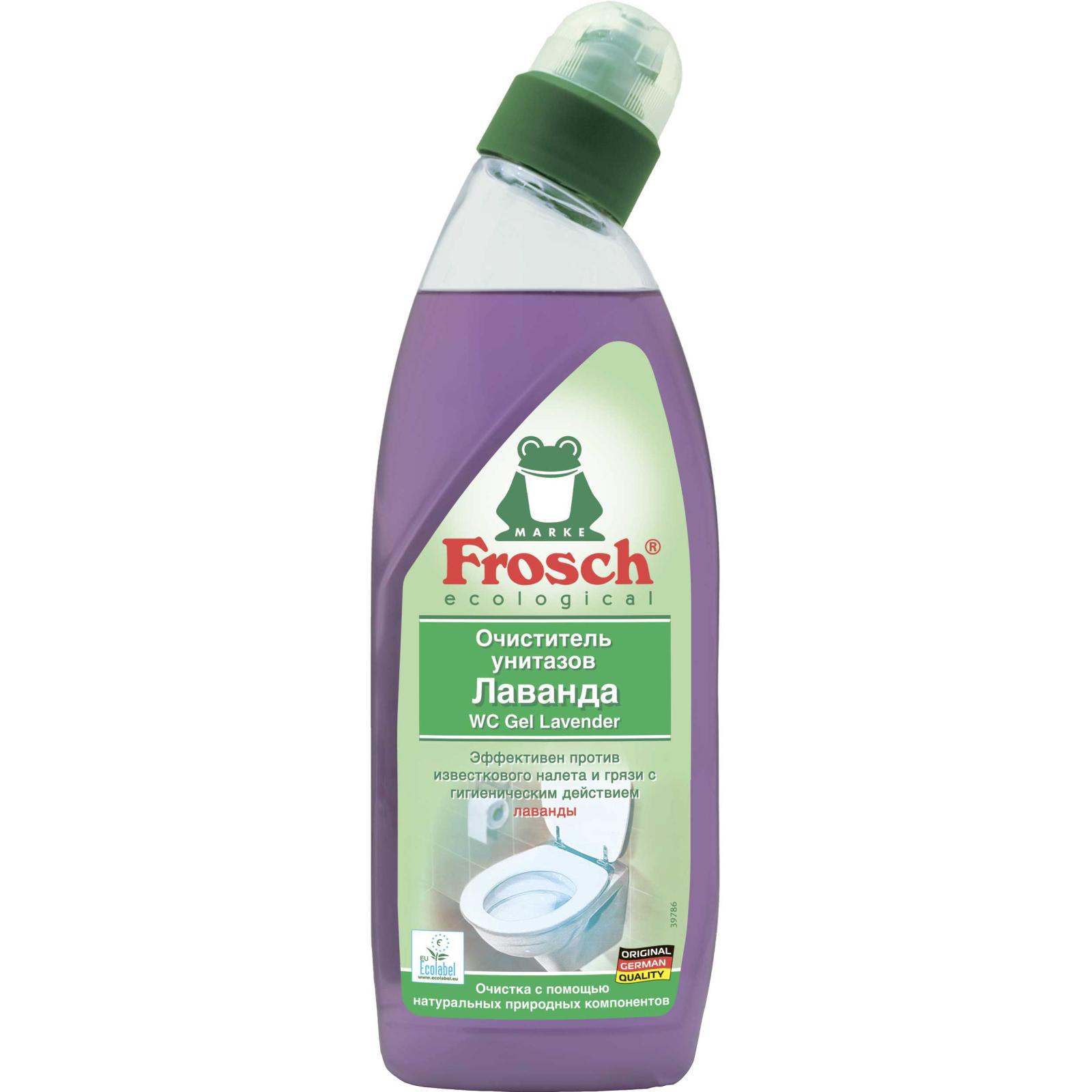 Чистящее средство Frosch для унитазов с экстрактами лаванды 750 мл (4009175118356)