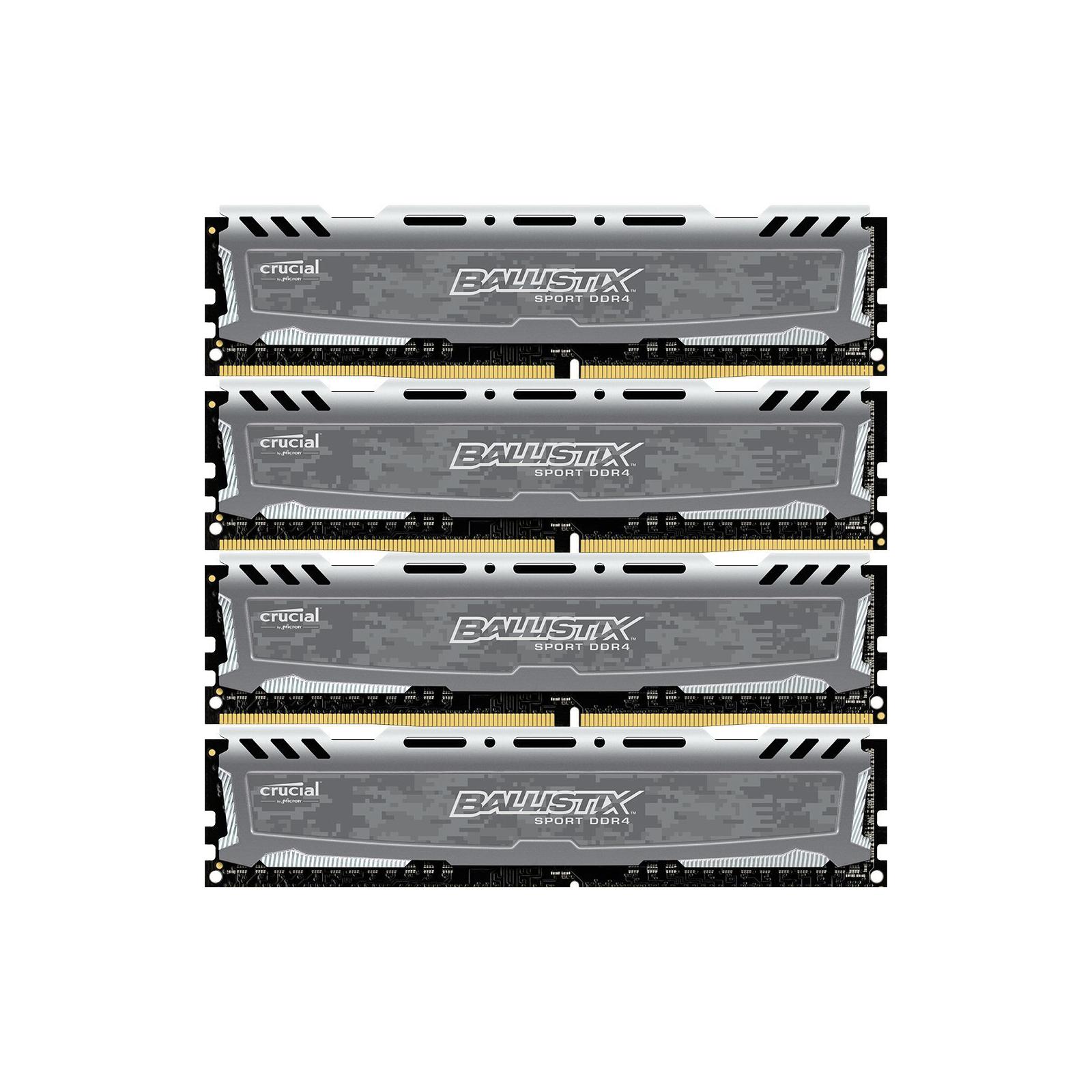 Модуль памяти для компьютера DDR4 16GB (4x4GB) 2400 MHz Ballistix Sport MICRON (BLS4C4G4D240FSB)