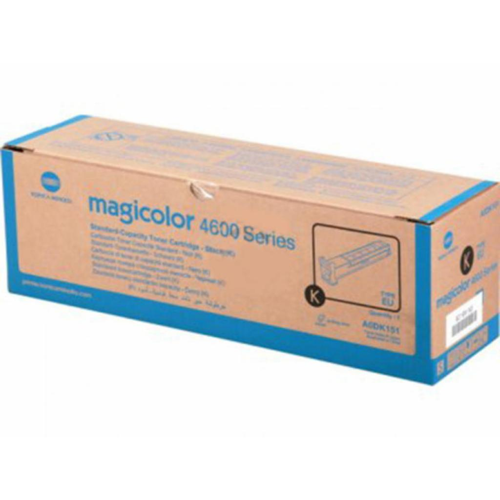 Тонер-картридж KONICA MINOLTA MagiColor 4600 Series (Black) 4К (A0DK151)