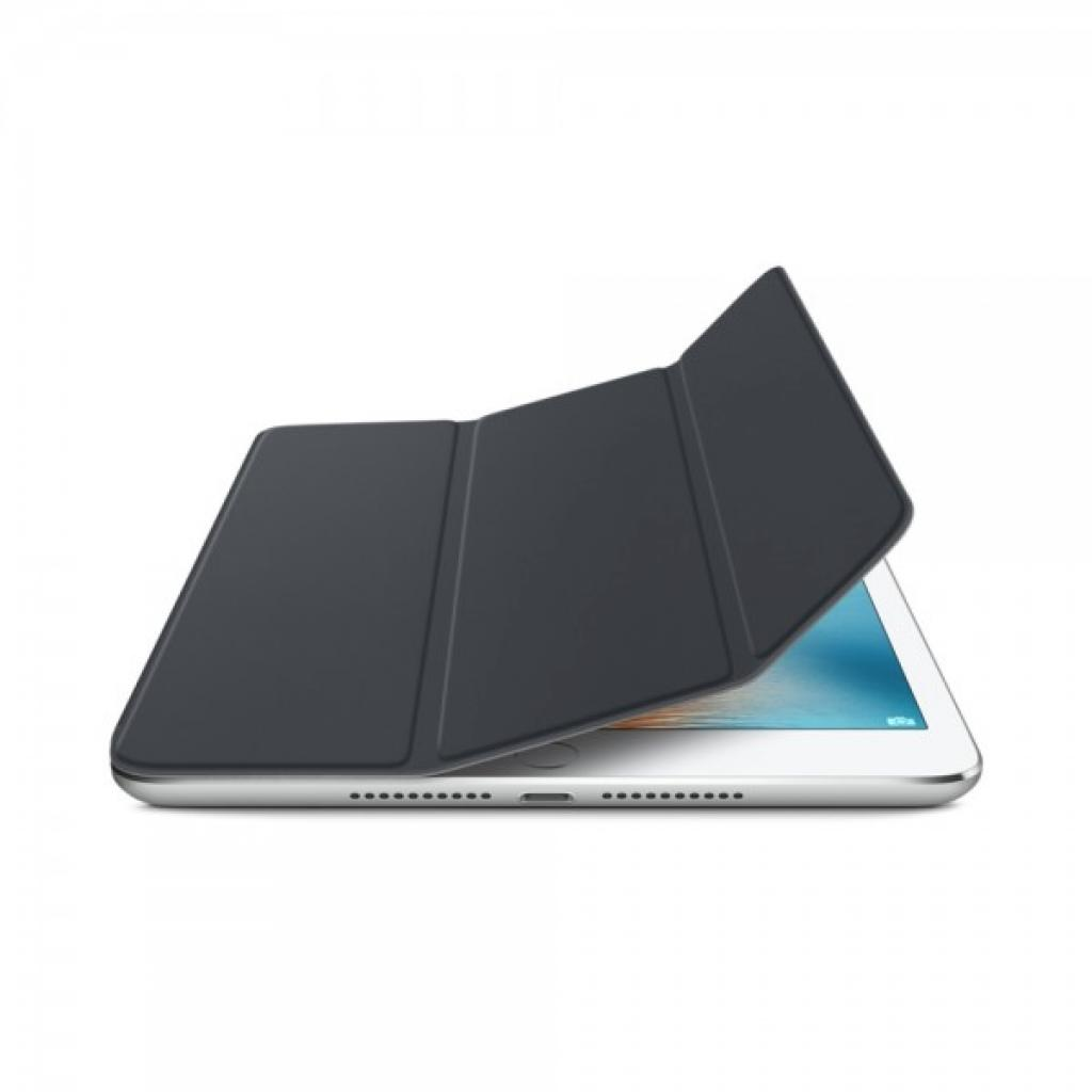 Чехол для планшета Apple Smart Cover для iPad mini 4 Charcoal Gray (MKLV2ZM/A) изображение 2