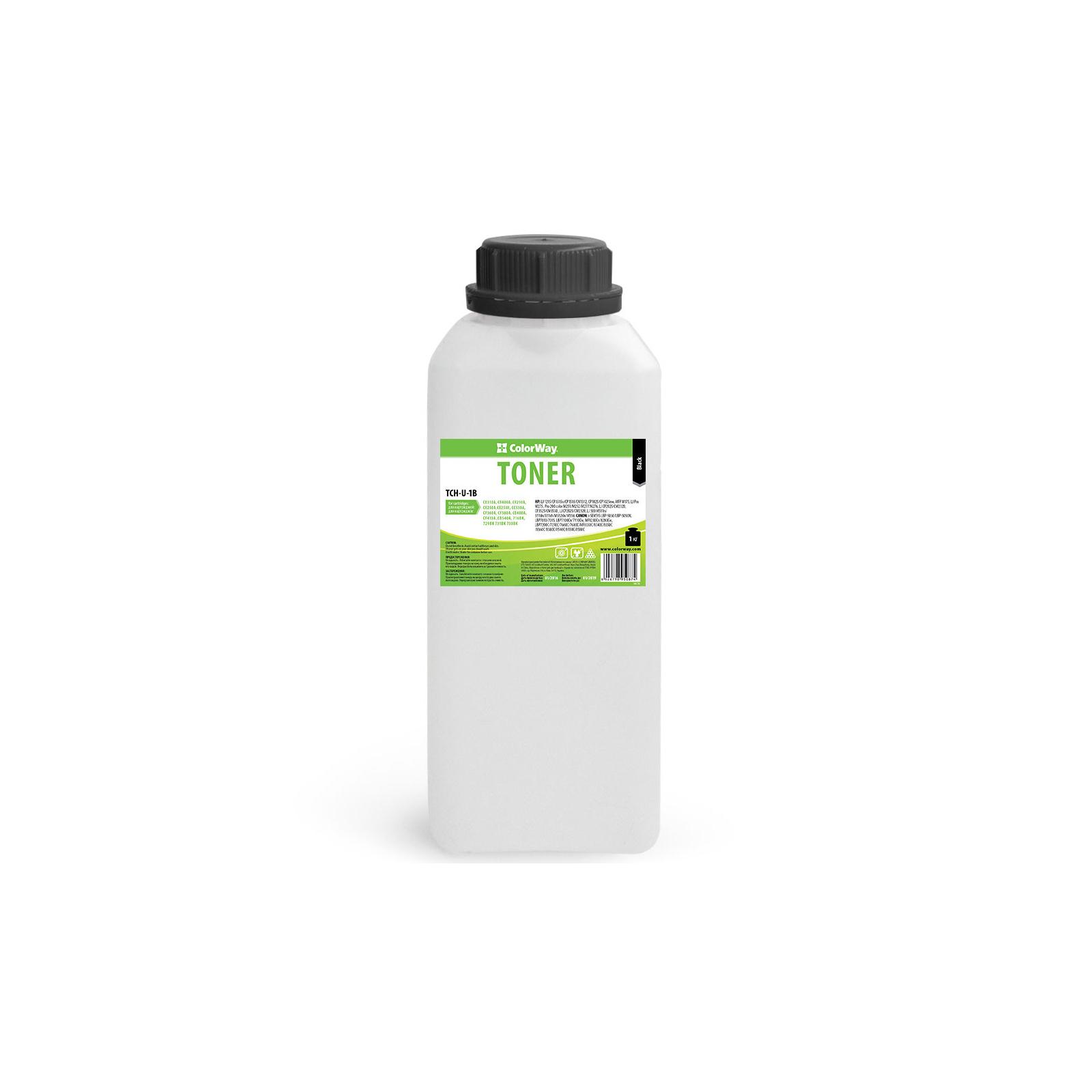 Тонер HP CLJ Universal color Black 1kg ColorWay (TCH-U-1B)