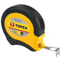 Рулетка Topex лента измерительная стальная, 20 м (28C412)