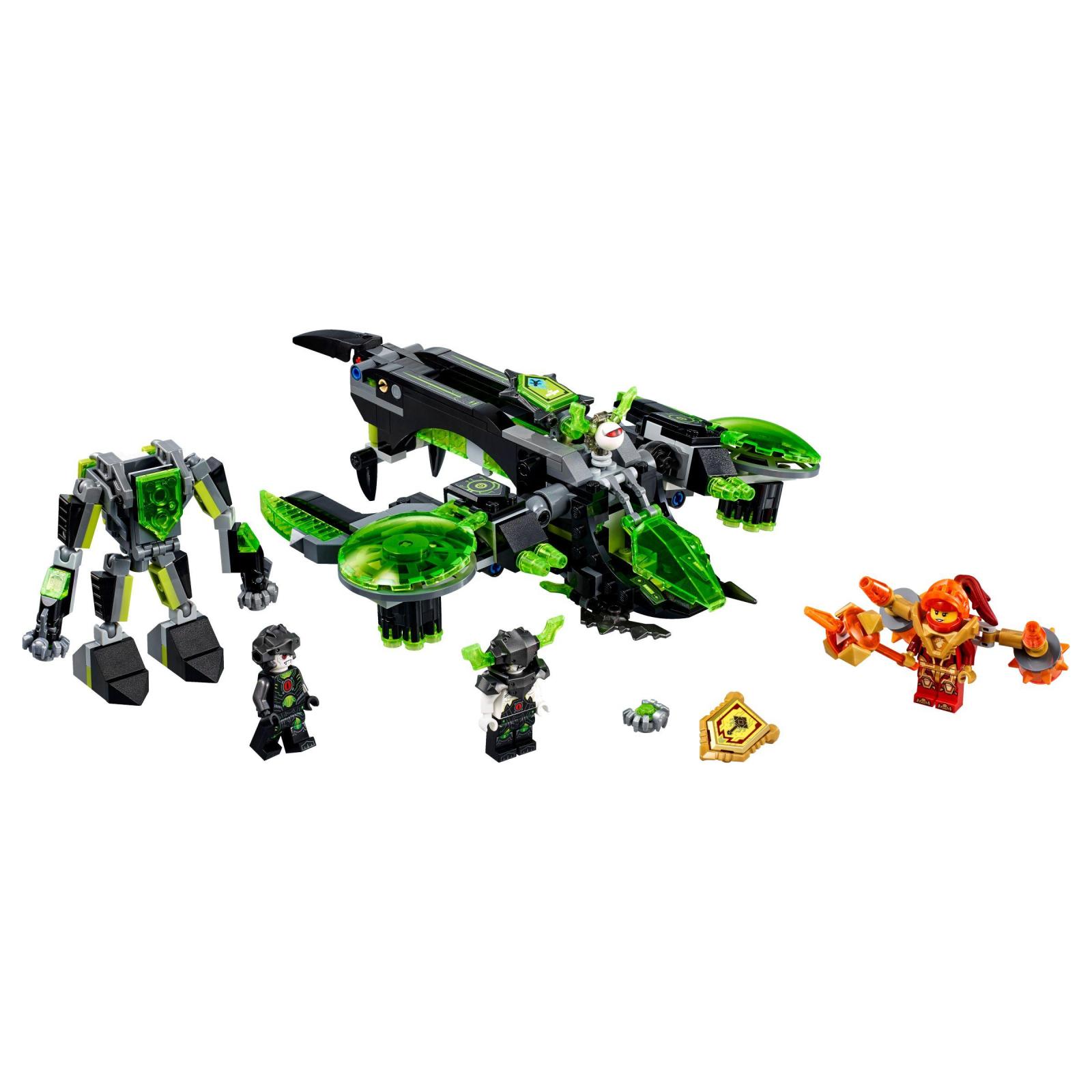 Конструктор LEGO Nexo Knights Бомбардировщик Берсеркер (72003) изображение 2