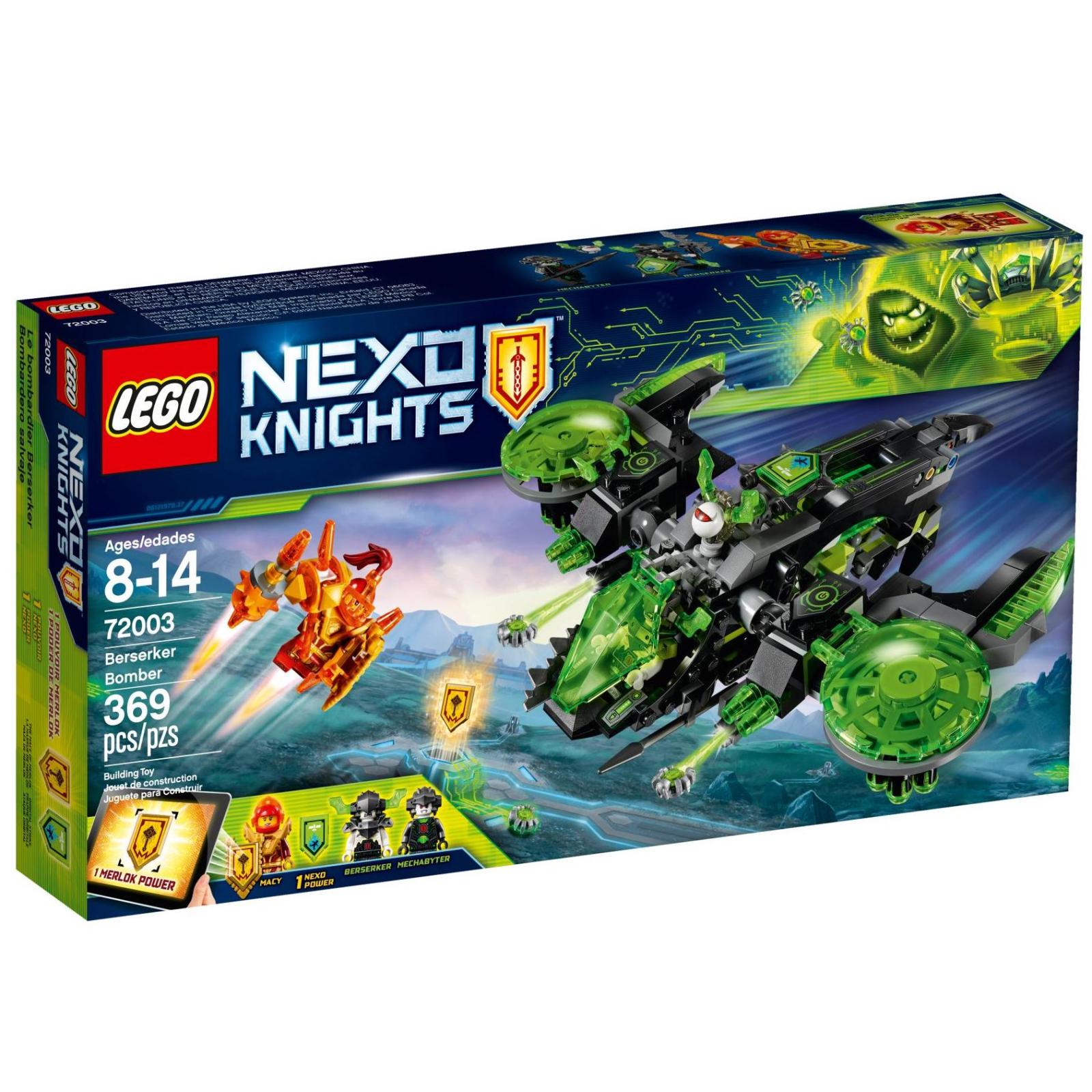 Конструктор LEGO Nexo Knights Бомбардировщик Берсеркер (72003)