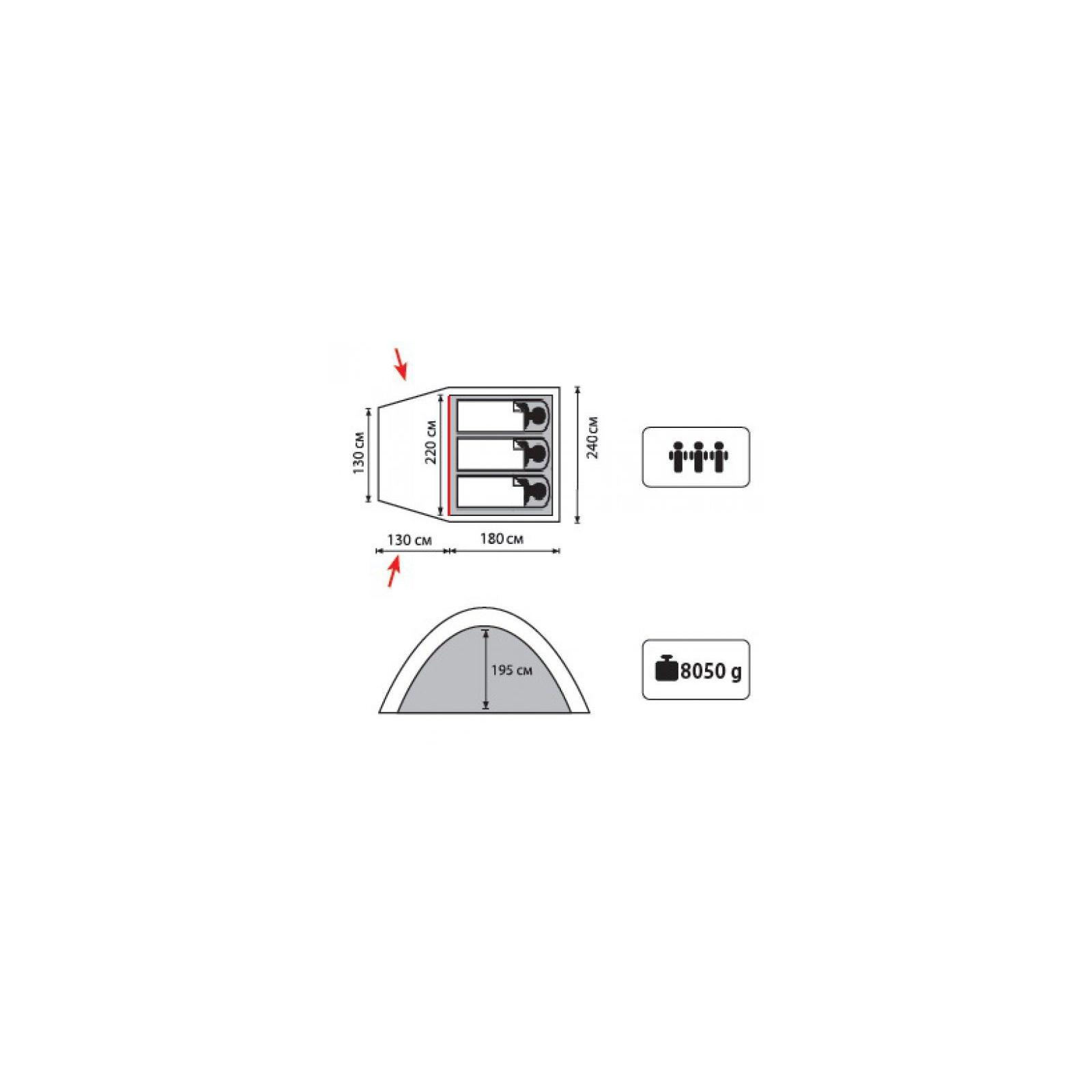 Палатка Tramp Anchor 3 (TLT-031.06) изображение 2