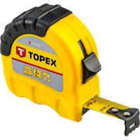 Рулетка Topex стальная лента 3 м x 16 мм (27C303)
