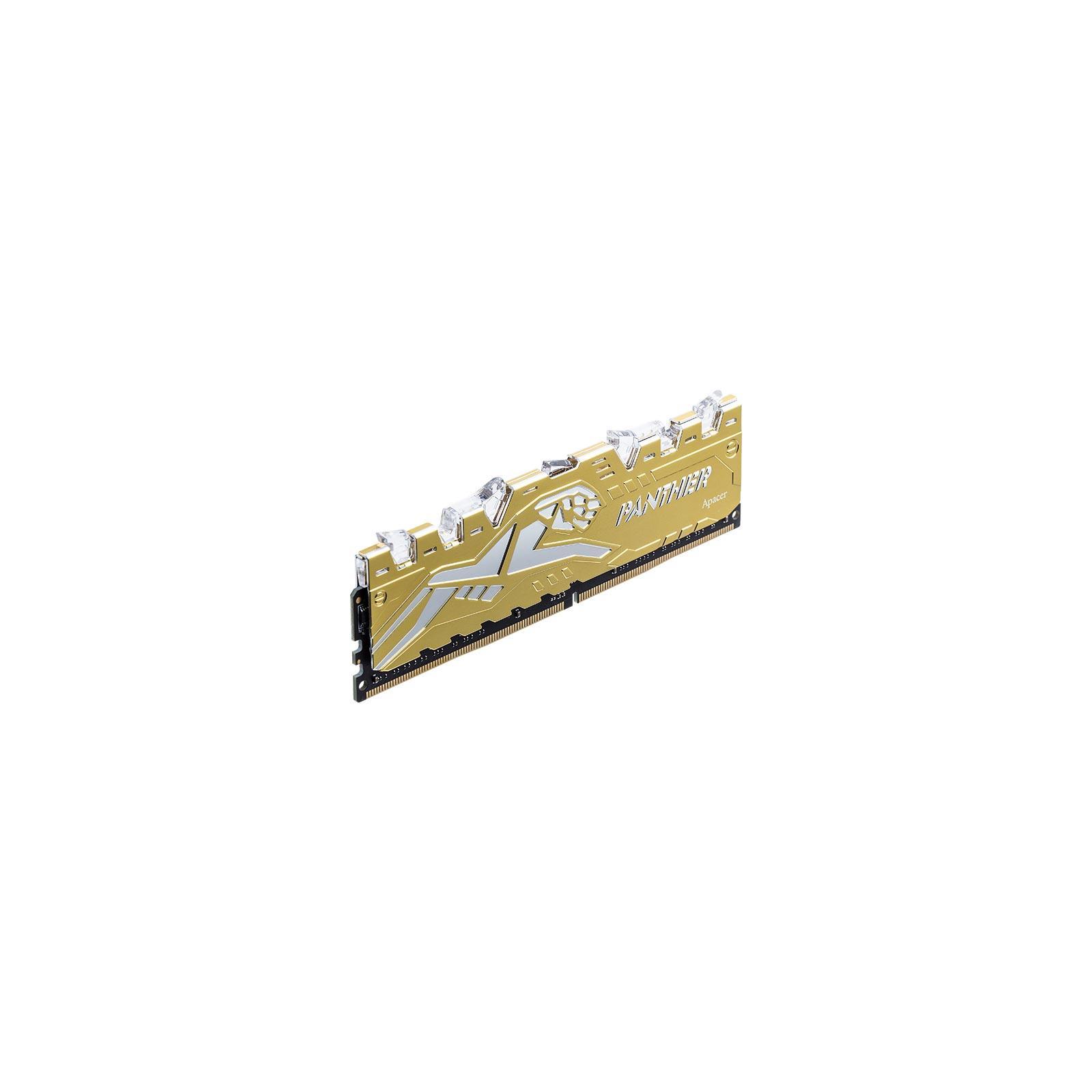 Модуль памяти для компьютера DDR4 16GB (2x8GB) 3000 MHz Panther Rage RGB Silver-Golden Apacer (K.16G2Z.GJMK2) изображение 3