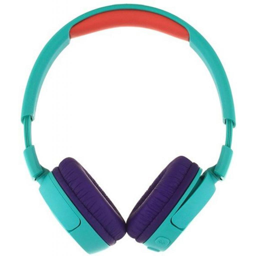 Наушники JBL Junior JR300BT Teal (JR300BTTEL) изображение 2
