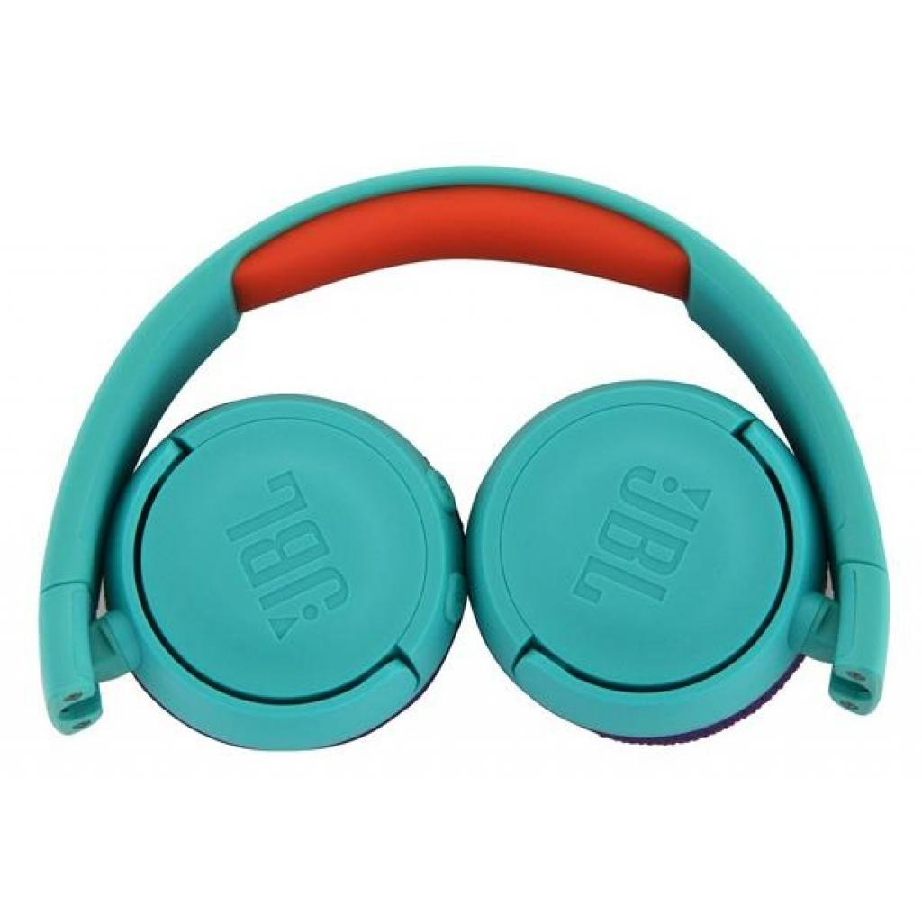 Наушники JBL Junior JR300BT Teal (JR300BTTEL) изображение 3