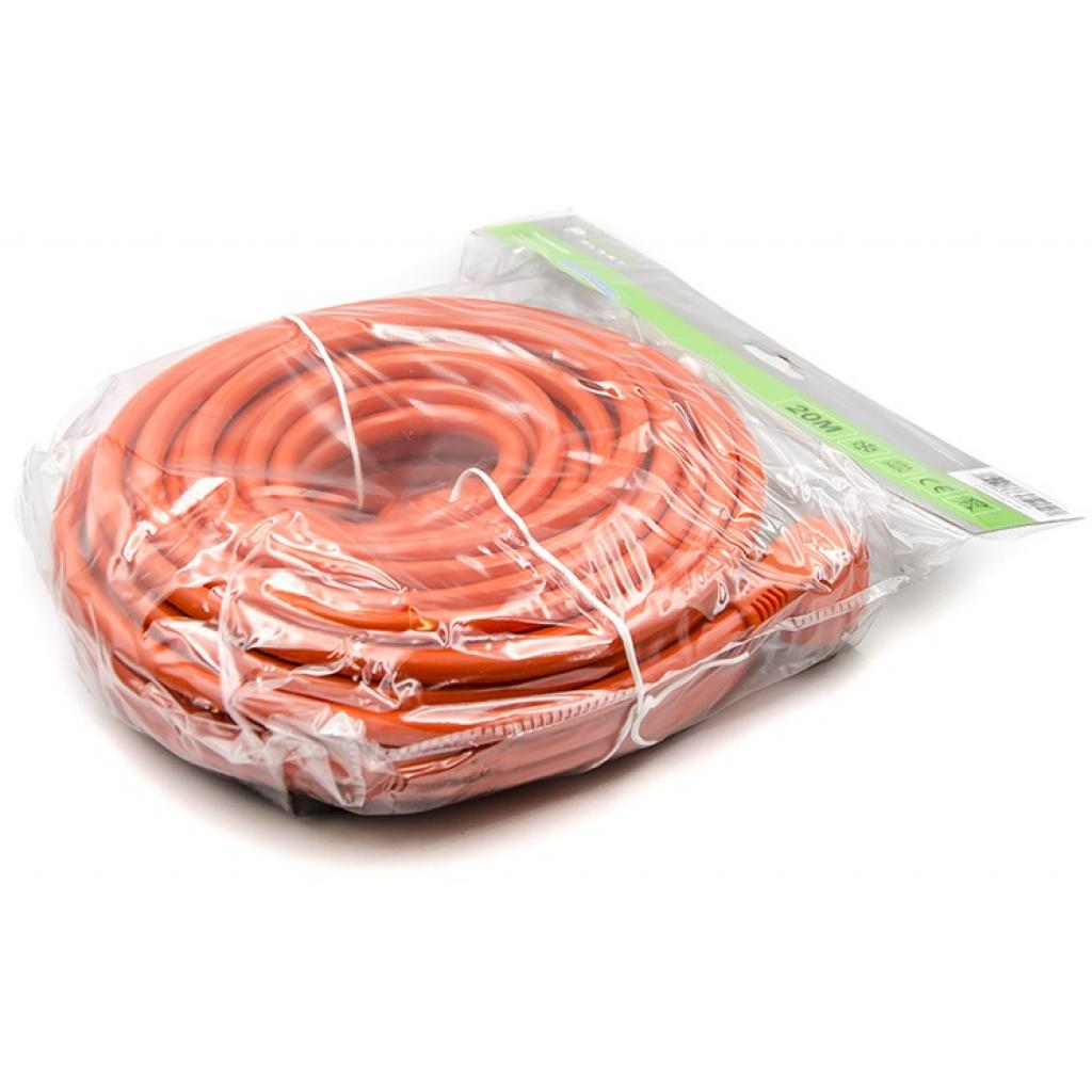 Сетевой удлинитель PowerPlant 20 м, 3x2.5мм2, 16А, морозостойкий (JY-3024/20) (PPCA16M20S1L) изображение 3