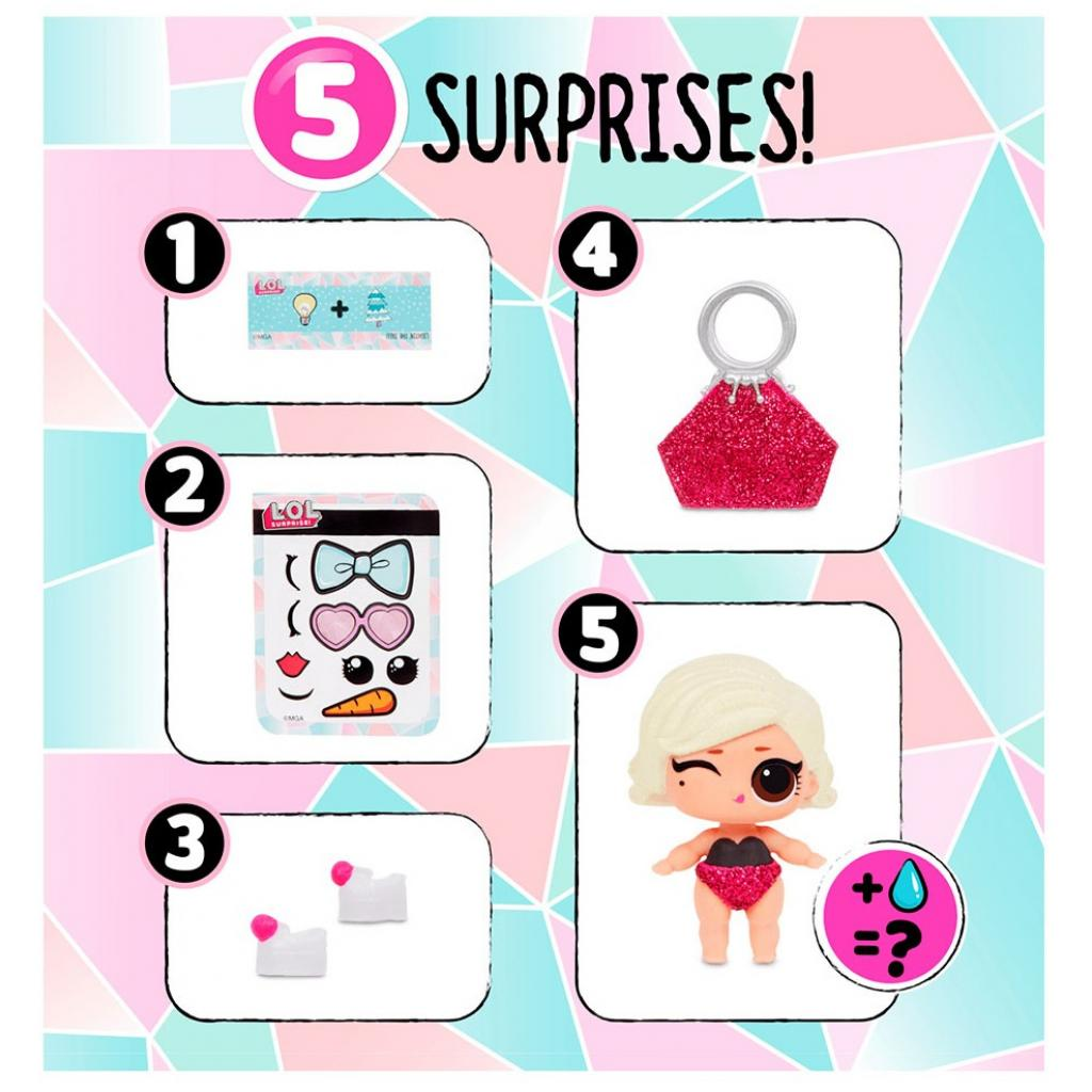 Кукла L.O.L. Surprise! серии Lil's Winter Disco - Малыши (559672) изображение 3