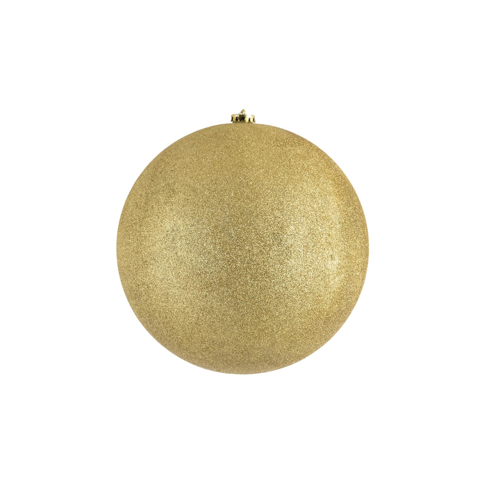 Елочная игрушка YES! Fun Шар d-25 см золотой глиттер (972675)