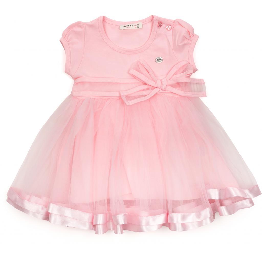 Платье Breeze с фатиновой юбкой (14251-98G-peach)