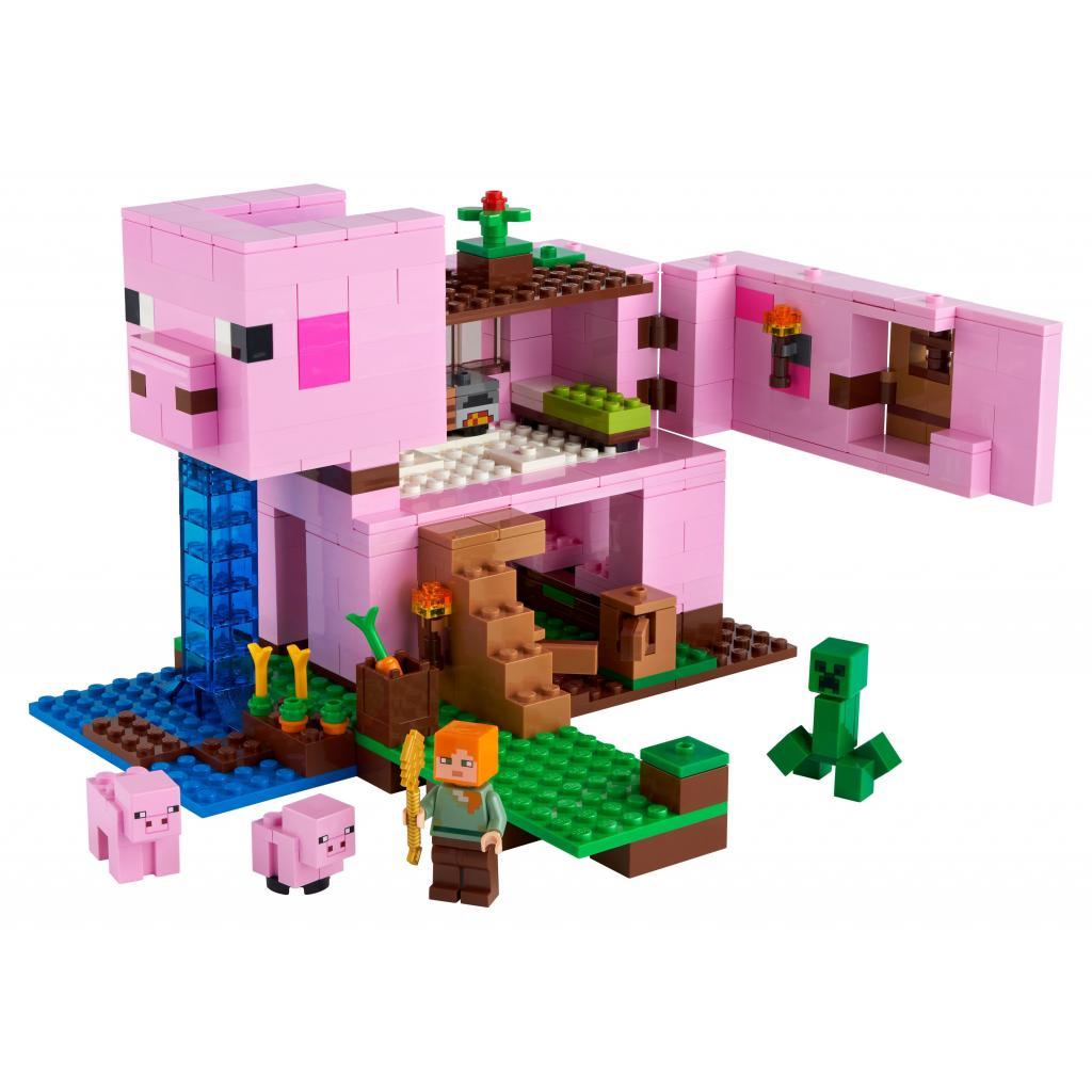 Конструктор LEGO Minecraft Дом-свинья 490 деталей (21170) изображение 2