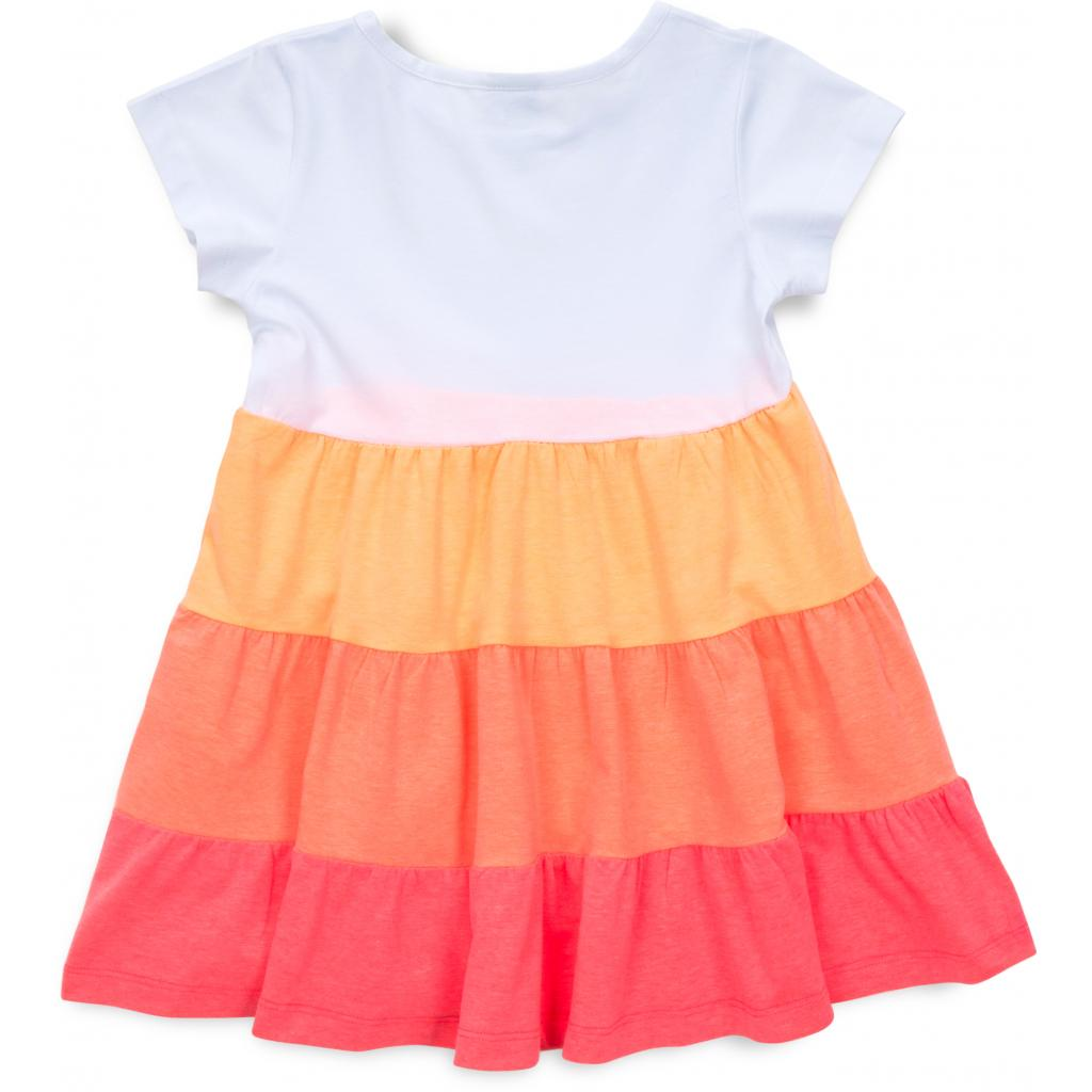 Платье Lovetti с оборками (9241-116G-orange) изображение 2