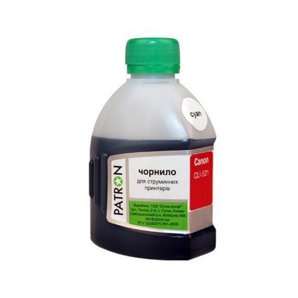 Чернила PATRON CANON CL-511/513/ CLI-521 CYAN (I-PN-CCLI521-180-C)
