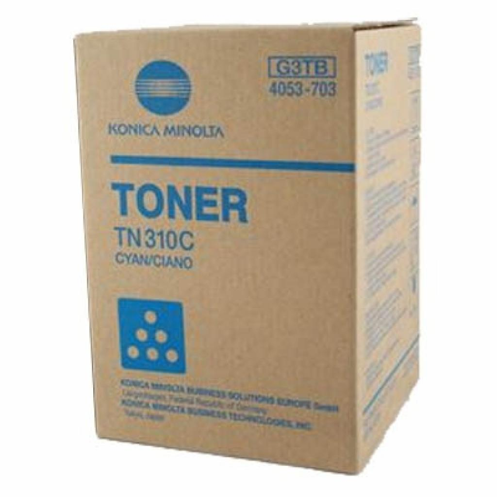 Тонер KONICA MINOLTA TN-310C Cyan /Bizhub C350/450 (4053703)