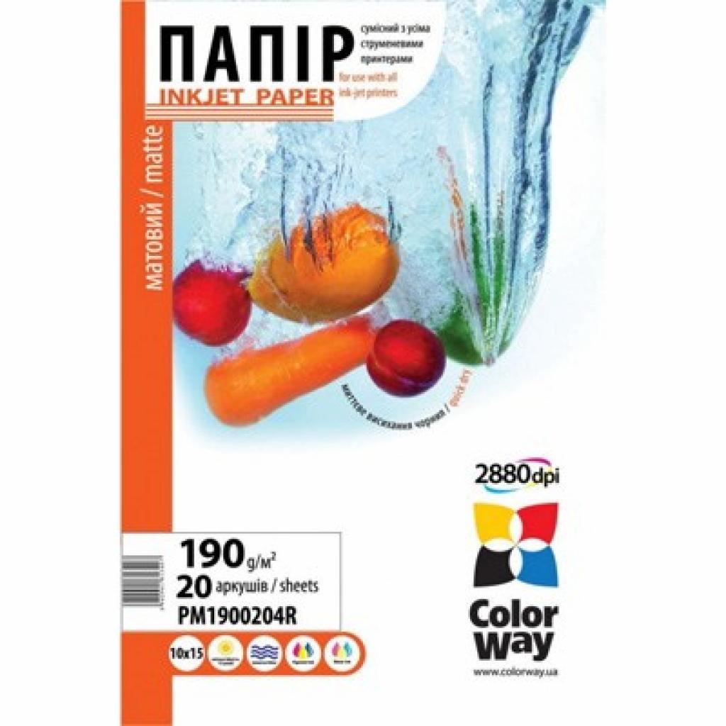 Бумага ColorWay A3+ (ПМ190-20) (PM190020A3+)