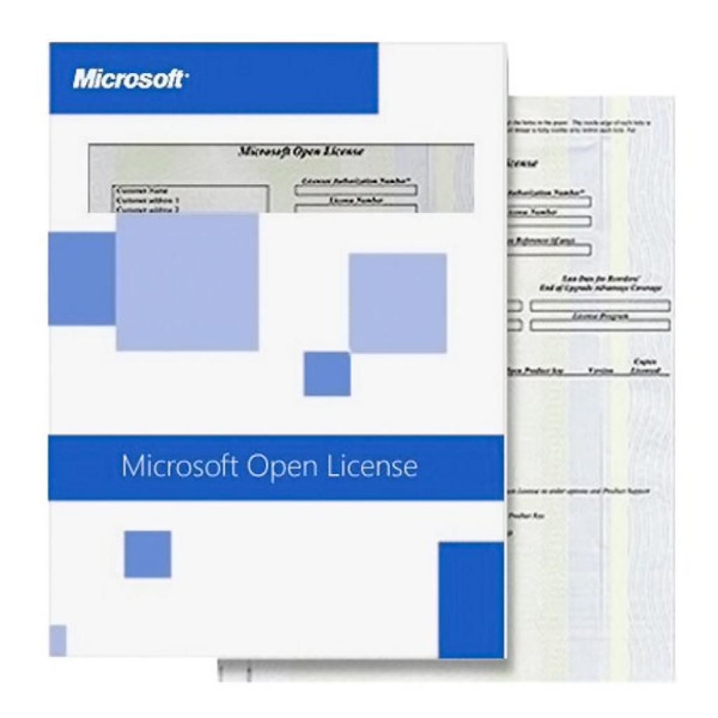 Программная продукция Microsoft OfficeStd SNGL LicSAPk NL (021-05429) изображение 2
