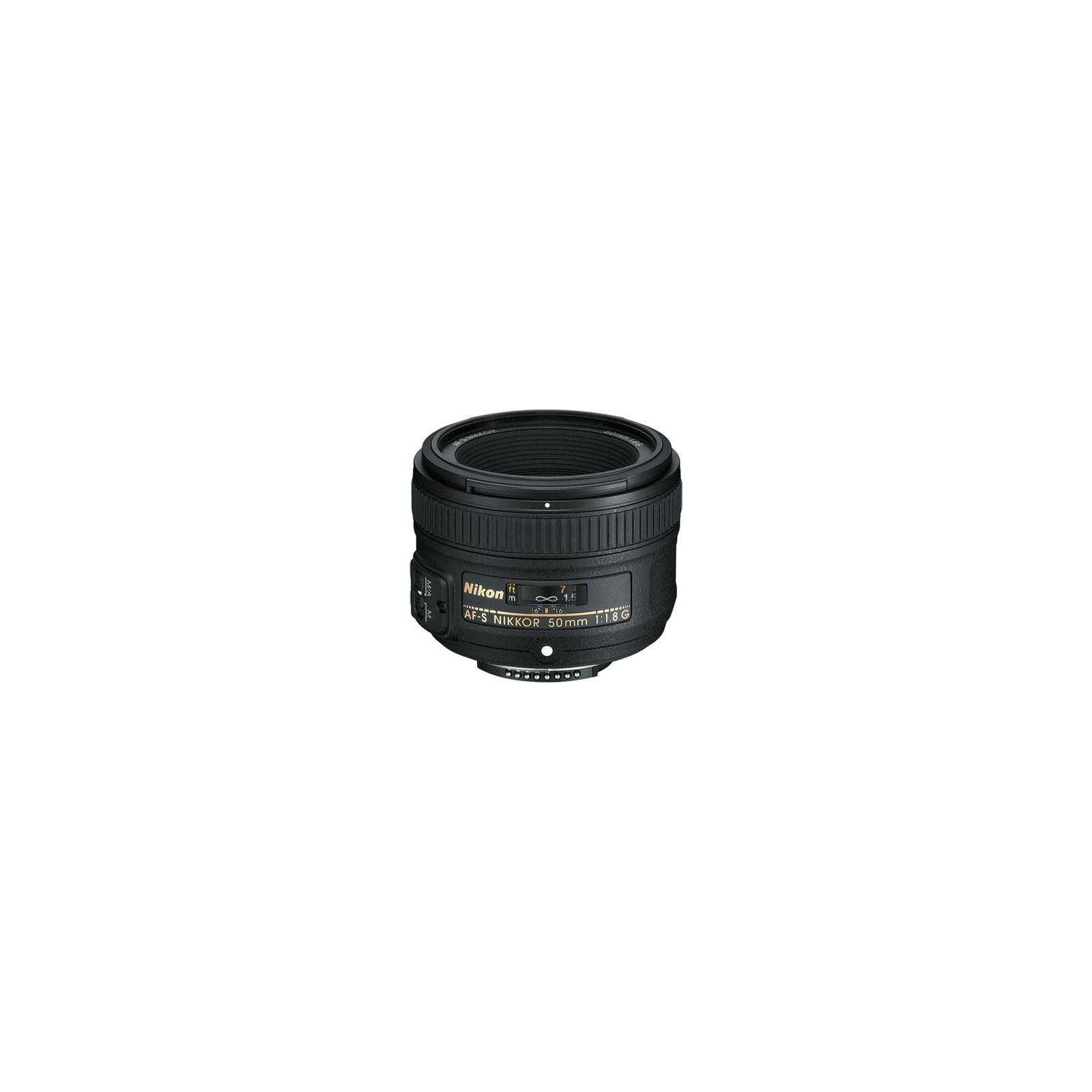 Объектив Nikkor AF-S 50mm f/1.8G Nikon (JAA015DA)