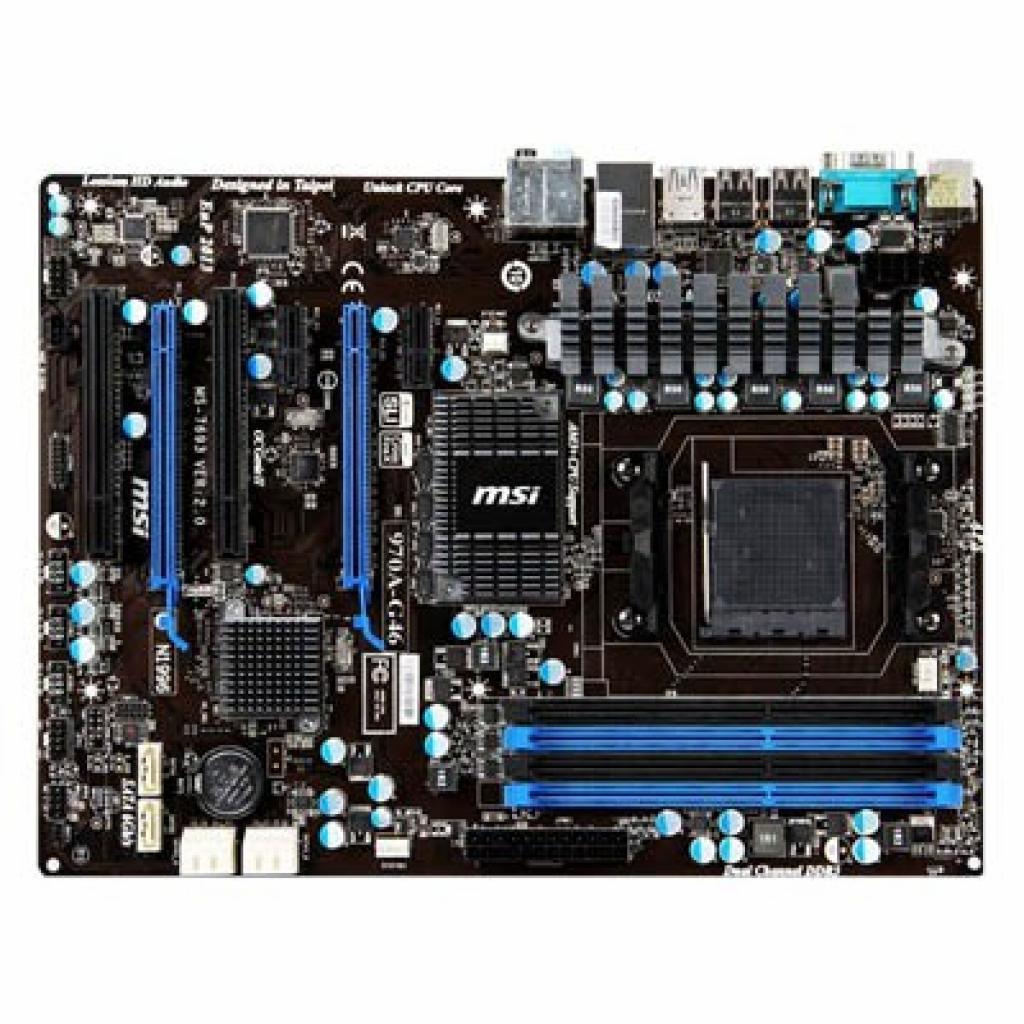 Материнская плата MSI 970A-G46