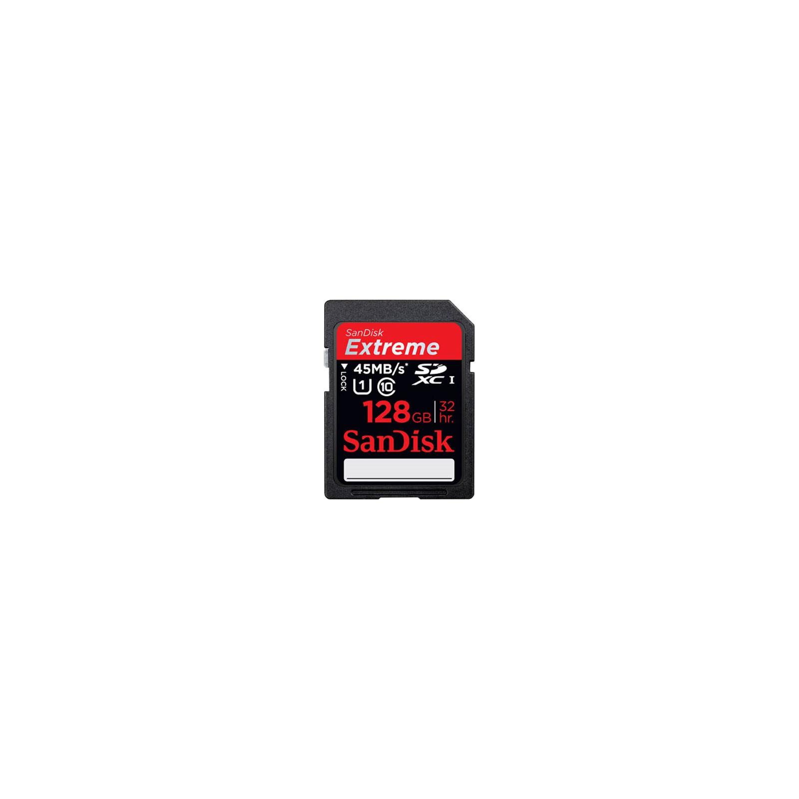 Карта памяти SANDISK 128Gb SDHC HD Video eXtreme (SDSDX-128G-X46)