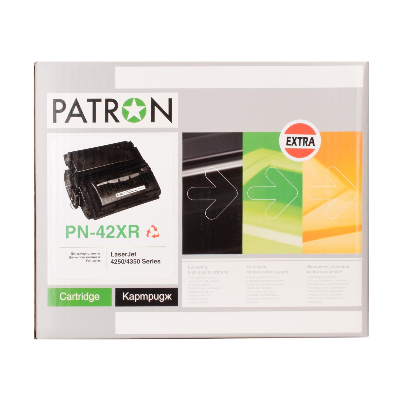 Картридж PATRON HP LJ4250/4350 /Q5942X (PN-42XR) Extra (CT-HP-Q5942X-PN-R) изображение 2