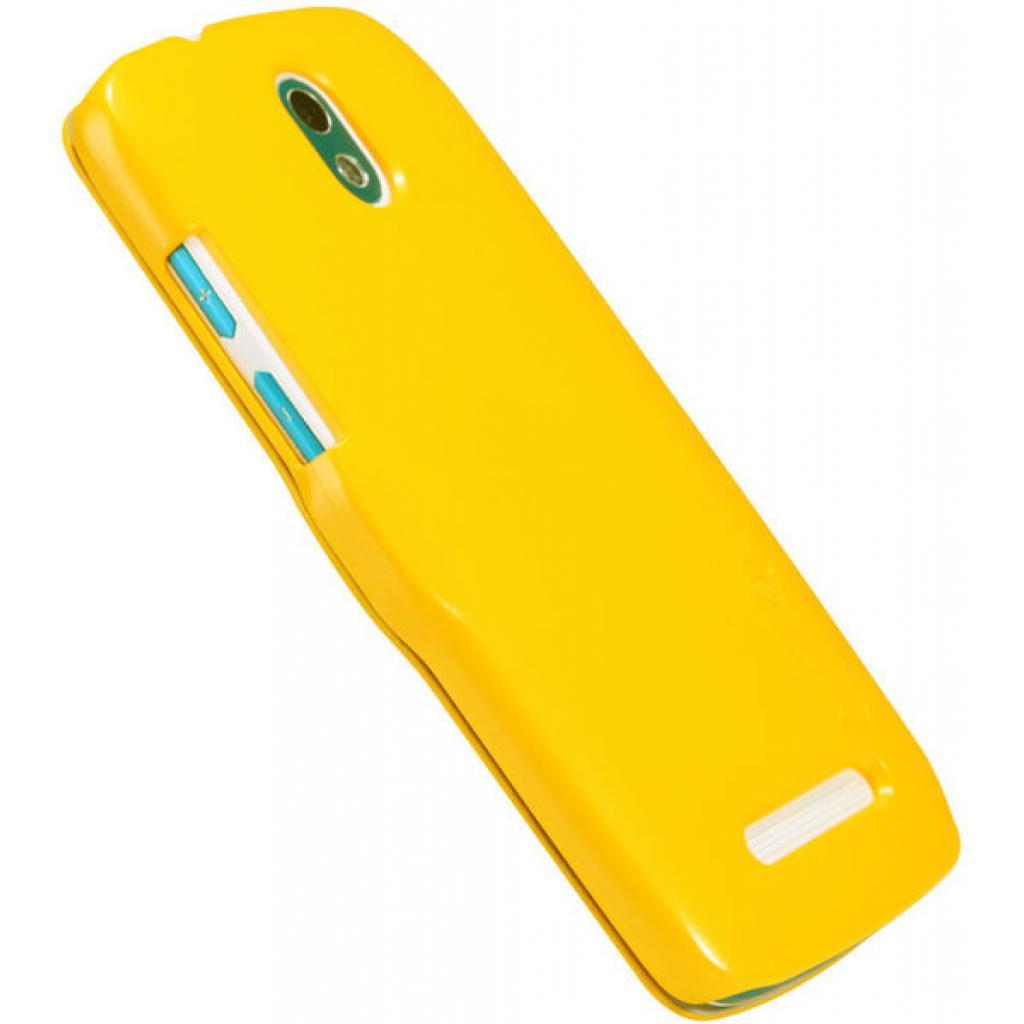 Чехол для моб. телефона NILLKIN для HTC Desire 500-Fresh/ Leather/Yellow (6088696) изображение 5