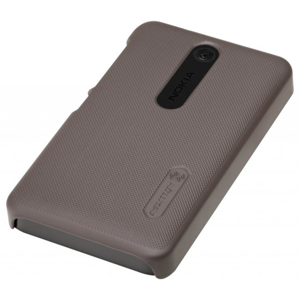 Чехол для моб. телефона NILLKIN для Nokia 501 /Super Frosted Shield/Brown (6077015) изображение 2