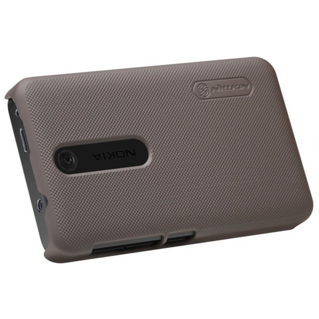 Чехол для моб. телефона NILLKIN для Nokia 501 /Super Frosted Shield/Brown (6077015) изображение 3
