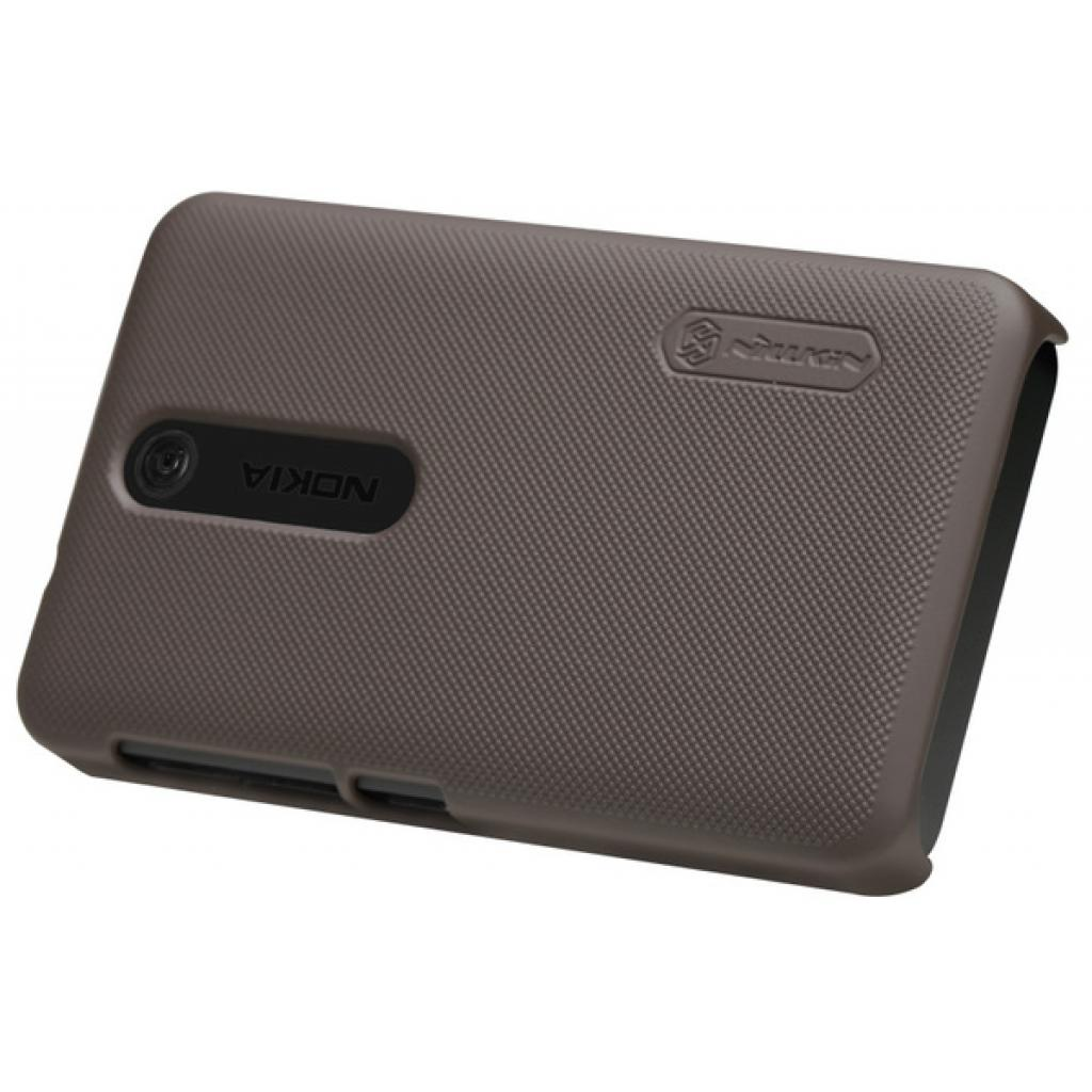 Чехол для моб. телефона NILLKIN для Nokia 501 /Super Frosted Shield/Brown (6077015) изображение 4