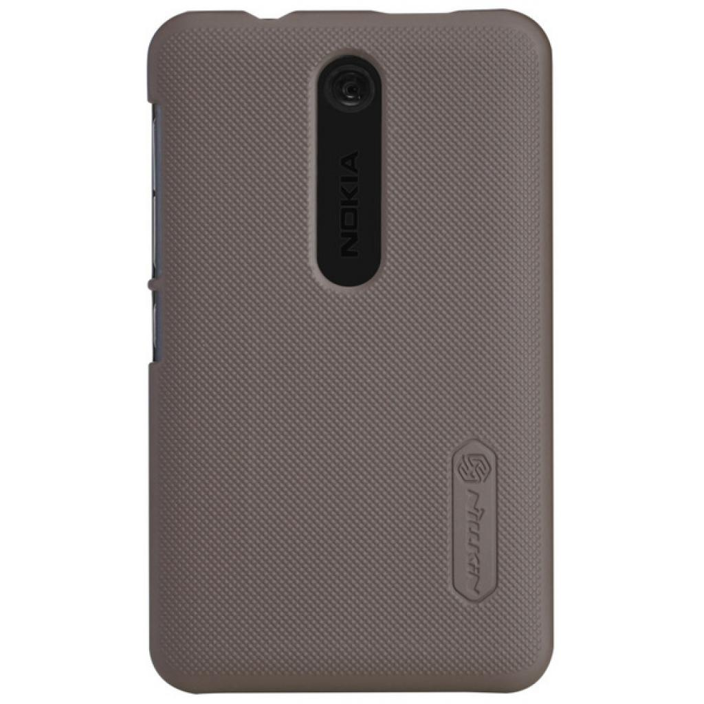 Чехол для моб. телефона NILLKIN для Nokia 501 /Super Frosted Shield/Brown (6077015)